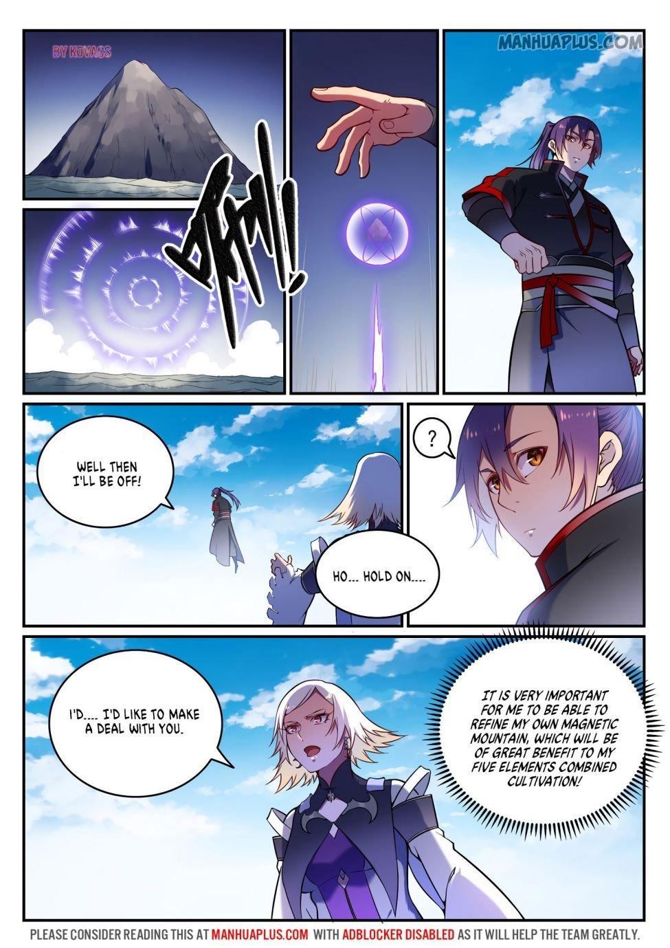 Manga Apotheosis - Chapter 600 Page 9