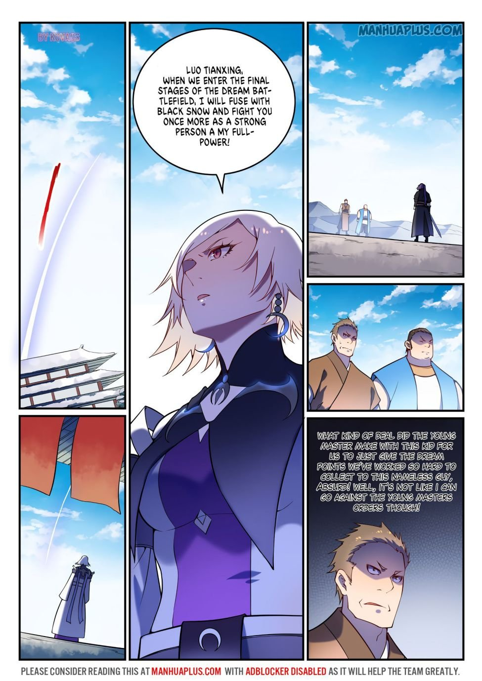 Manga Apotheosis - Chapter 600 Page 15
