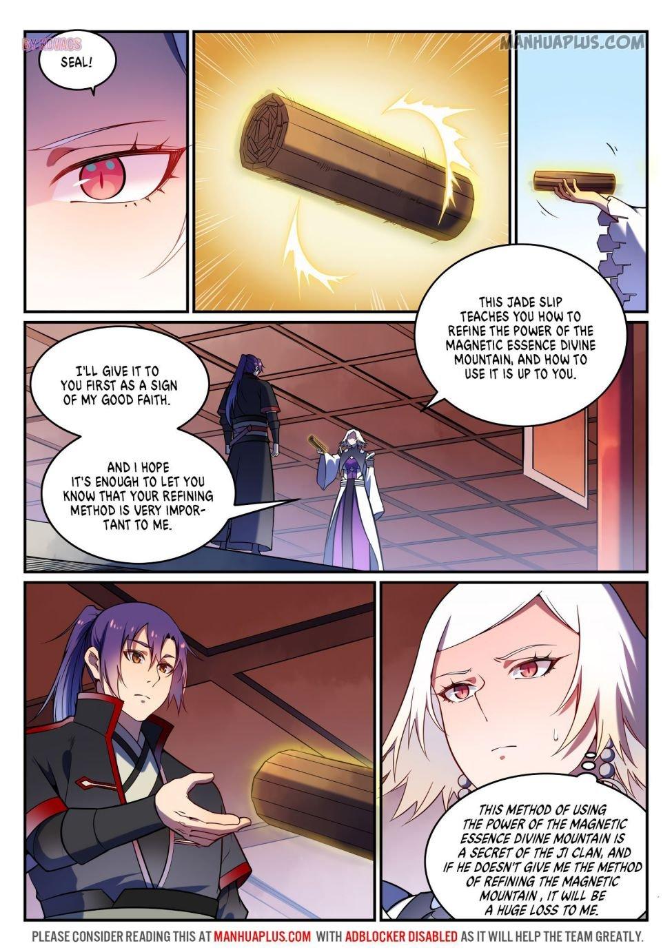 Manga Apotheosis - Chapter 600 Page 11