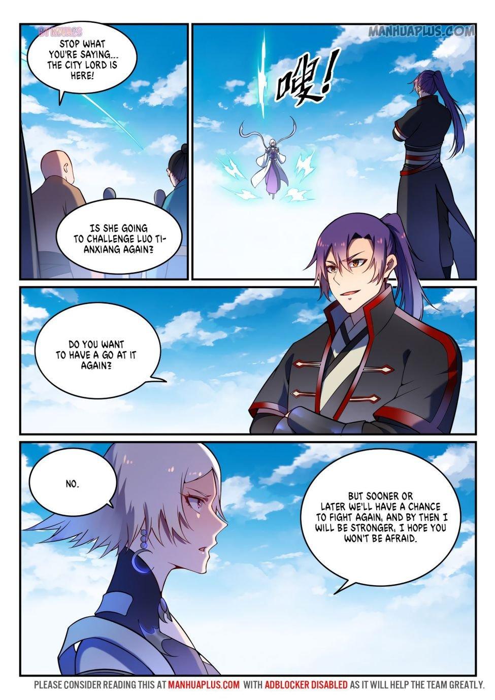 Manga Apotheosis - Chapter 600 Page 7