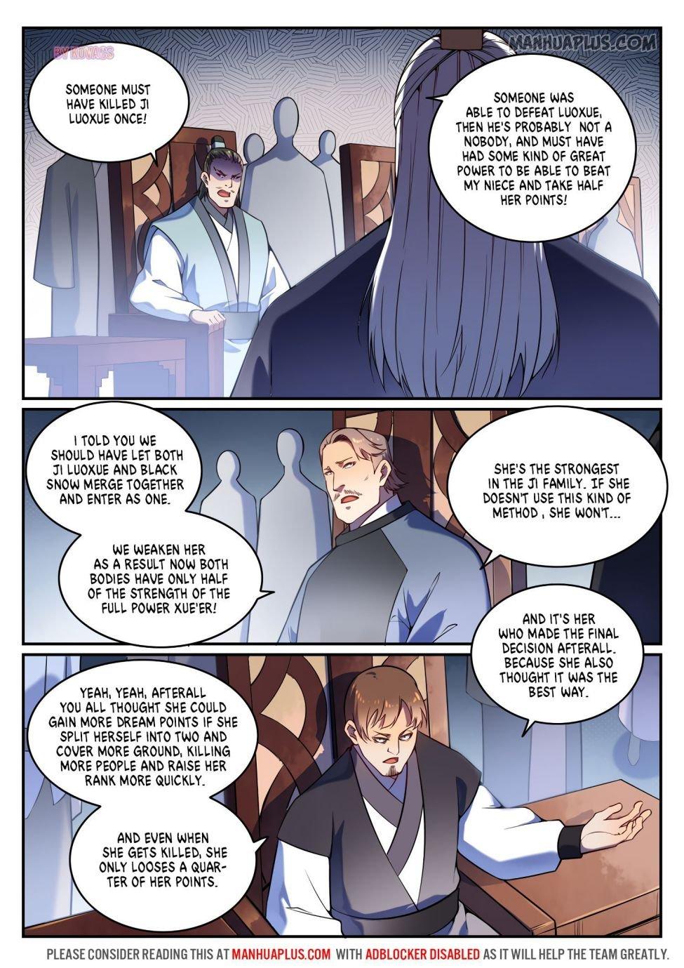 Manga Apotheosis - Chapter 600 Page 3