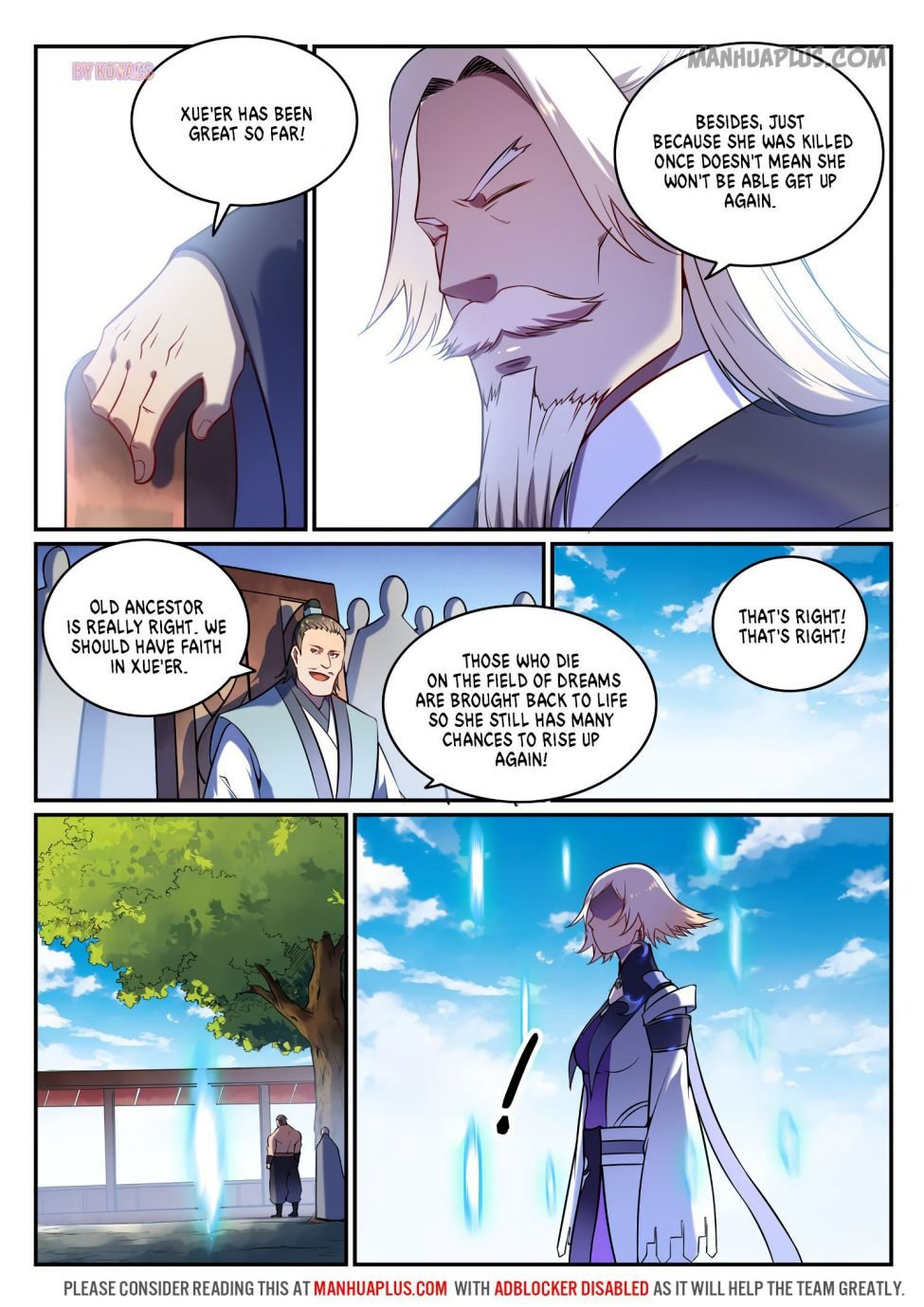 Manga Apotheosis - Chapter 600 Page 5