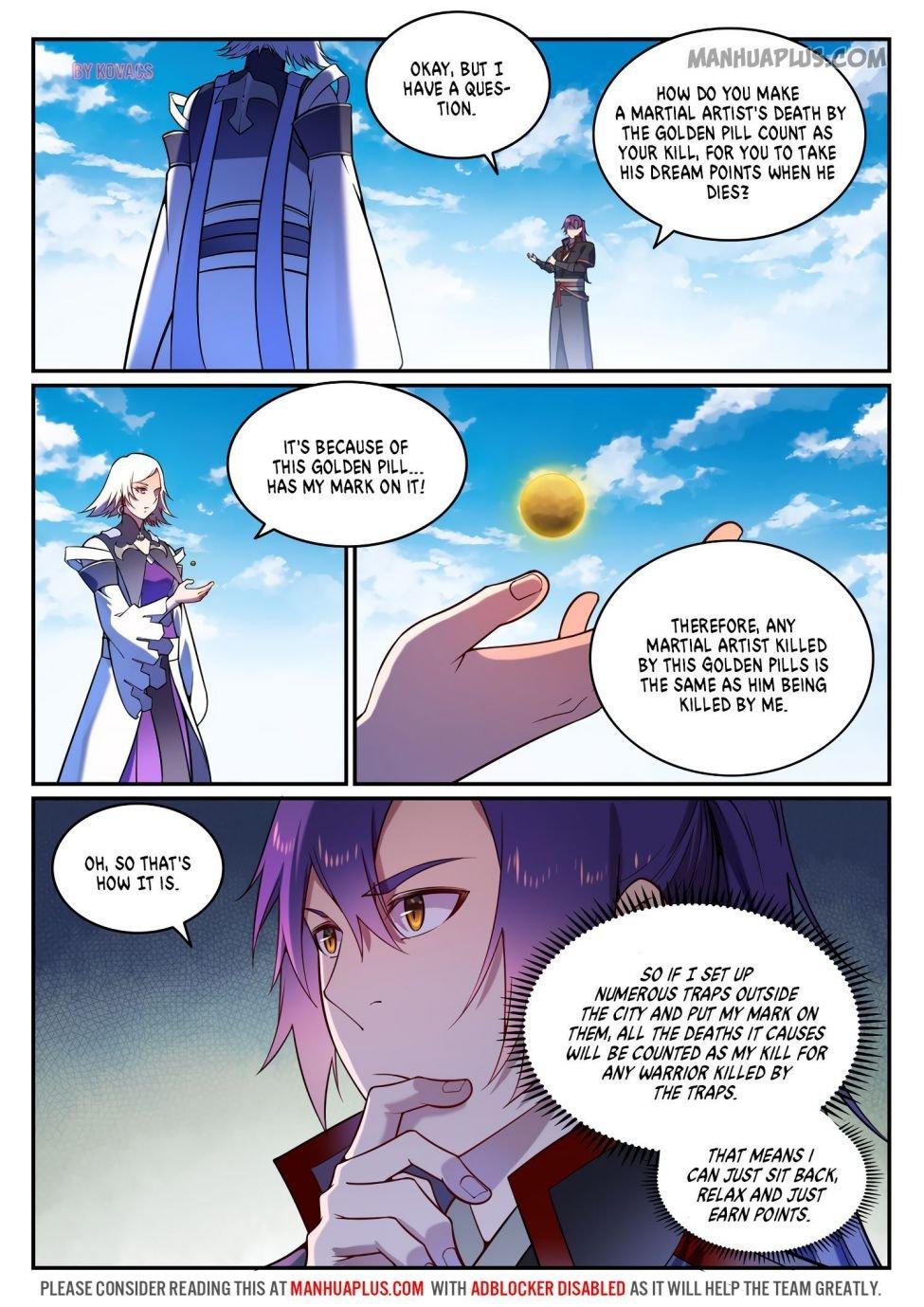 Manga Apotheosis - Chapter 600 Page 8