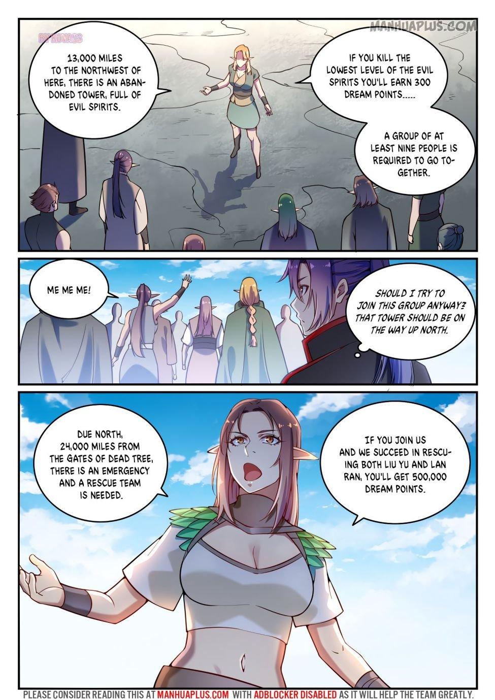 Manga Apotheosis - Chapter 601 Page 7