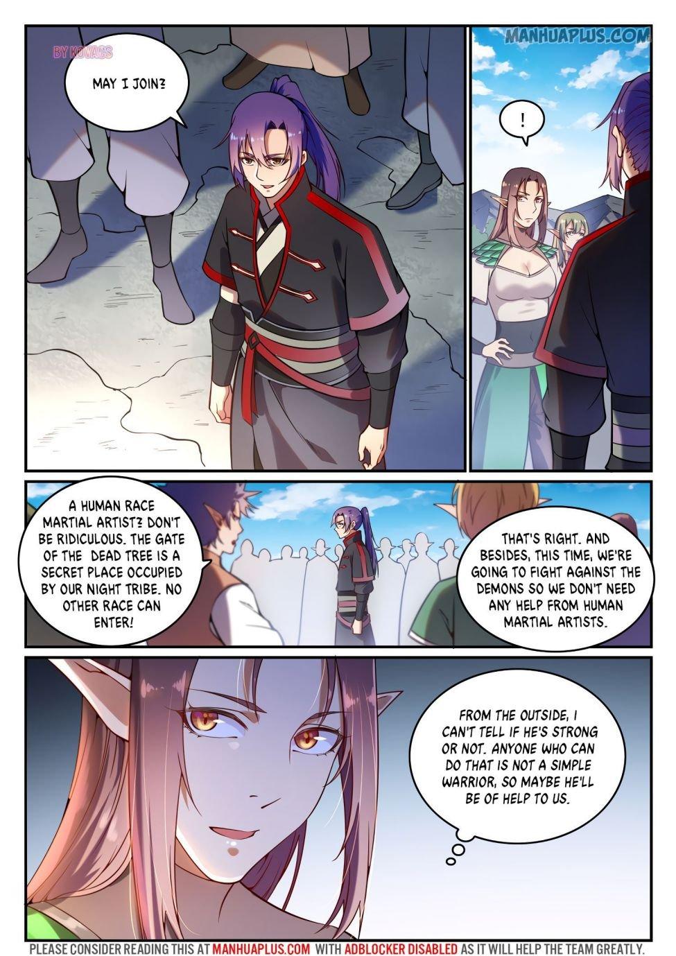 Manga Apotheosis - Chapter 601 Page 11