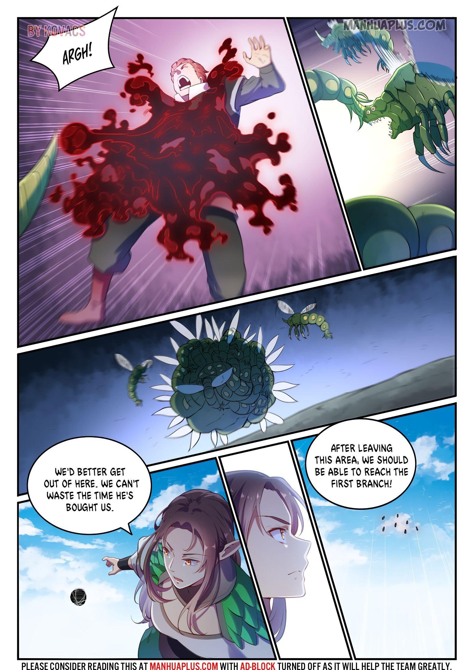 Manga Apotheosis - Chapter 603 Page 1