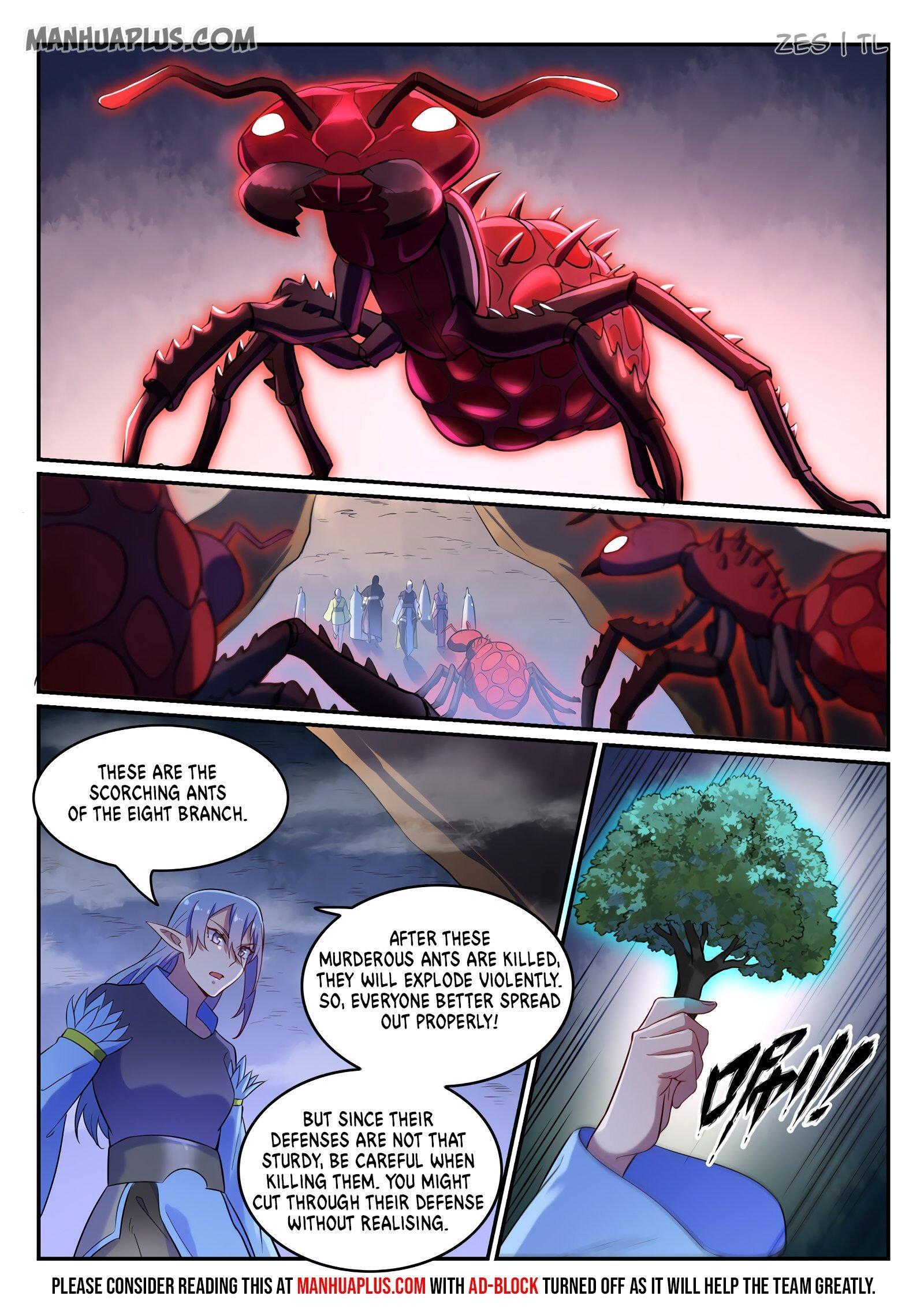 Manga Apotheosis - Chapter 605 Page 8