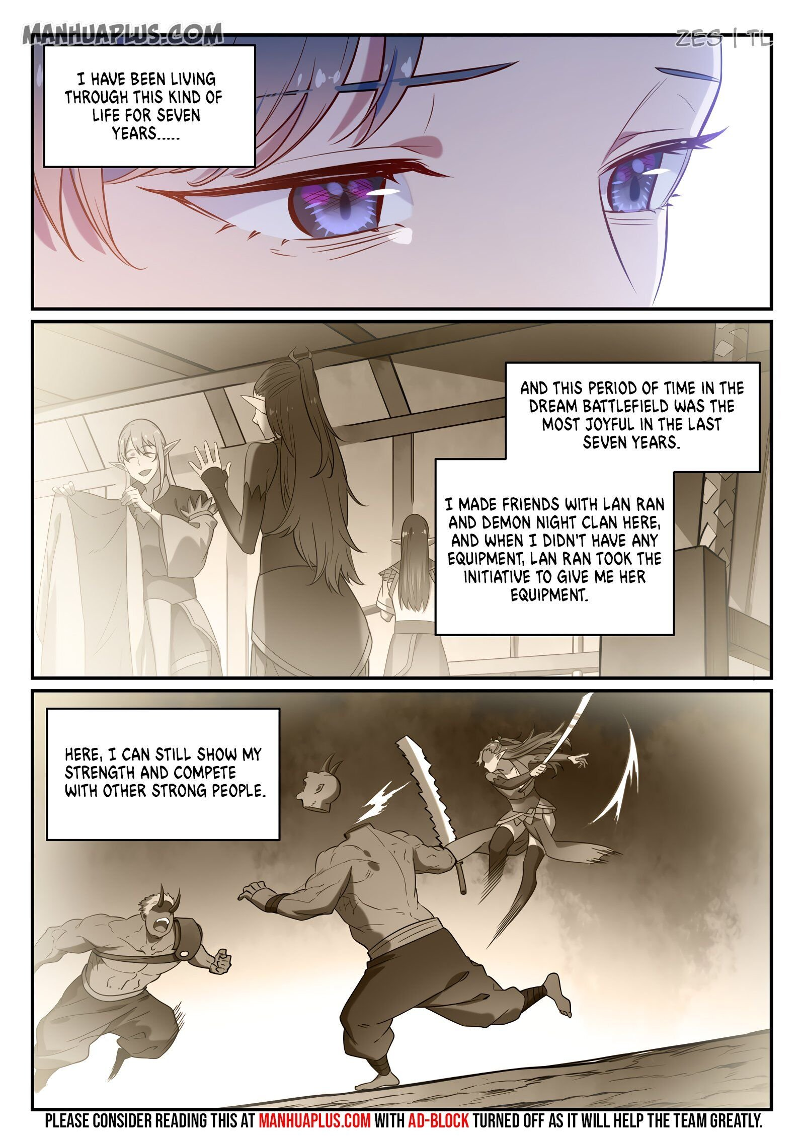 Manga Apotheosis - Chapter 605 Page 3