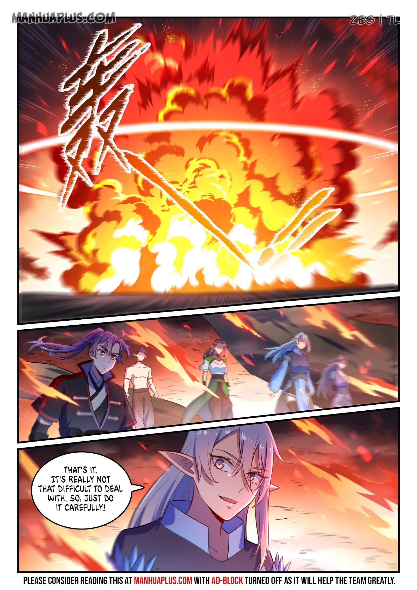 Manga Apotheosis - Chapter 605 Page 11