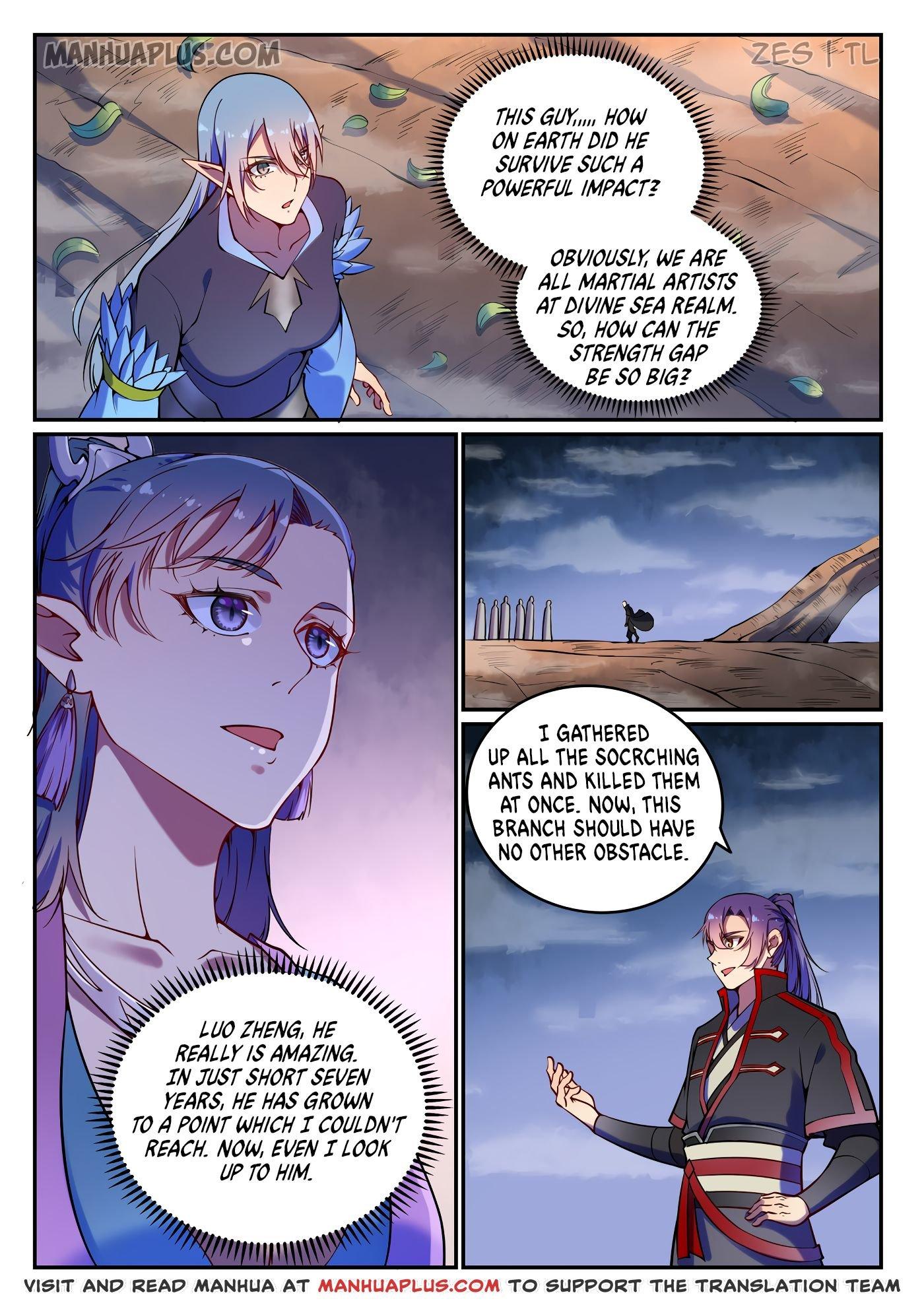 Manga Apotheosis - Chapter 606 Page 4