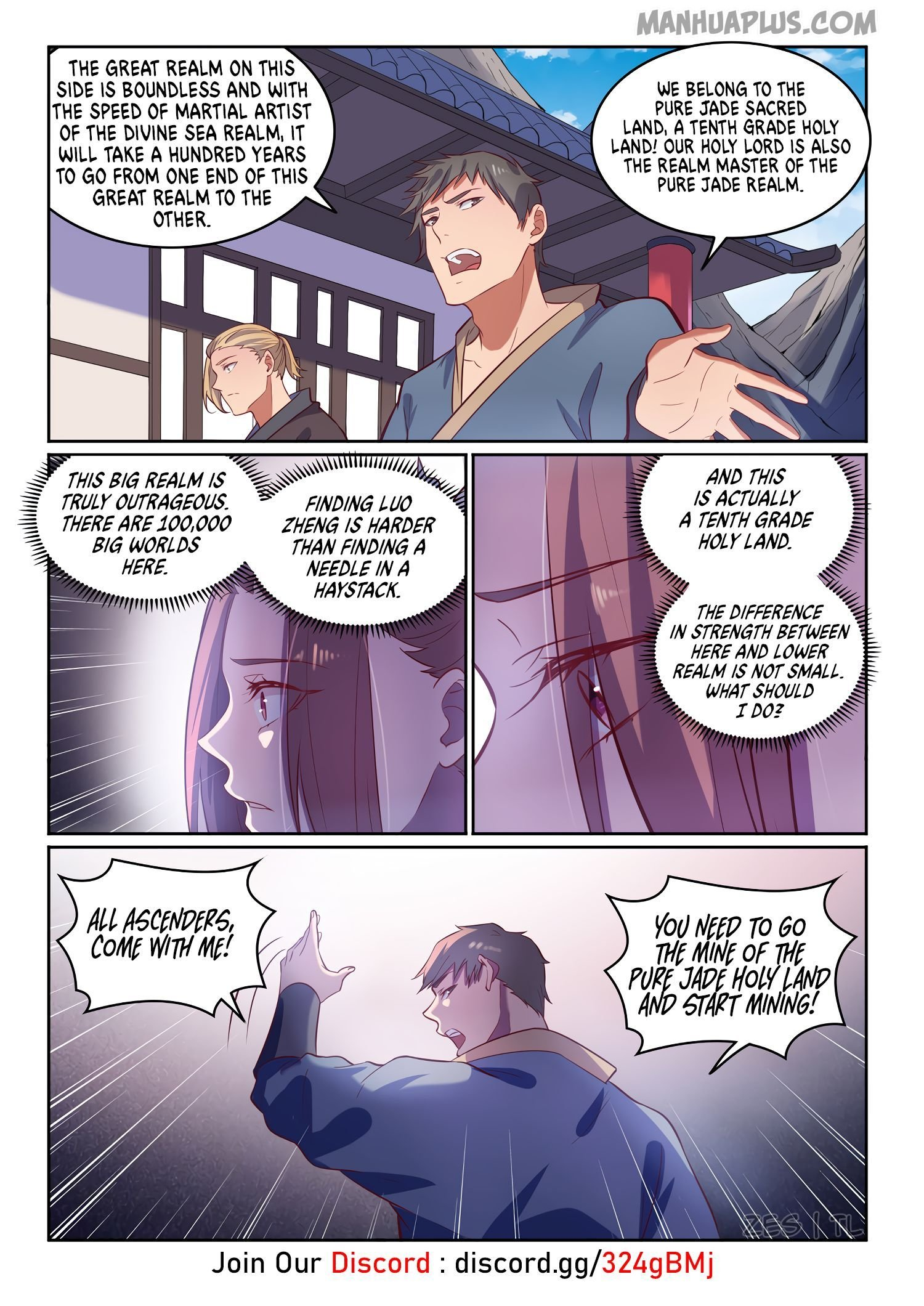 Manga Apotheosis - Chapter 610 Page 13