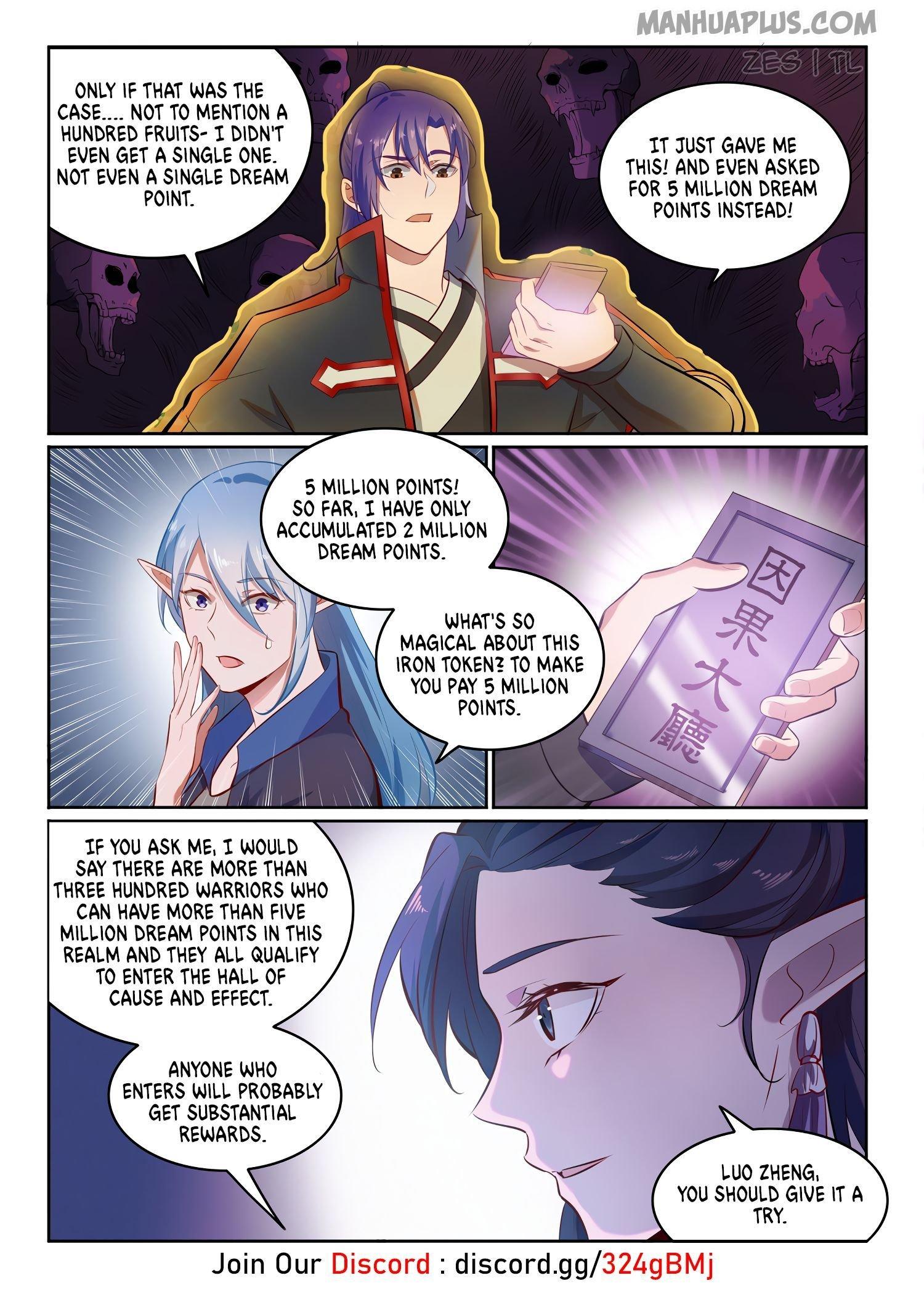 Manga Apotheosis - Chapter 610 Page 3