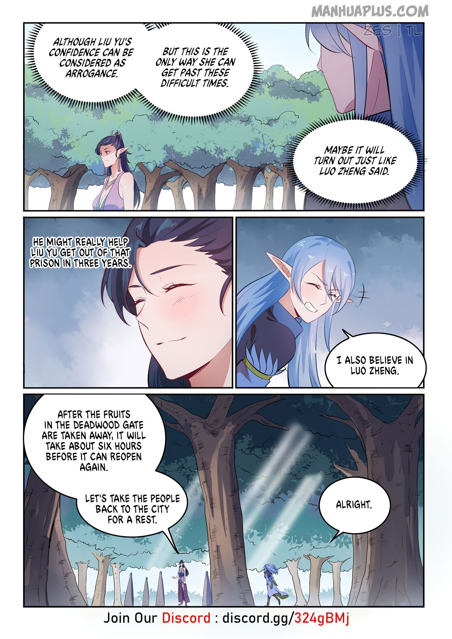 Manga Apotheosis - Chapter 610 Page 7