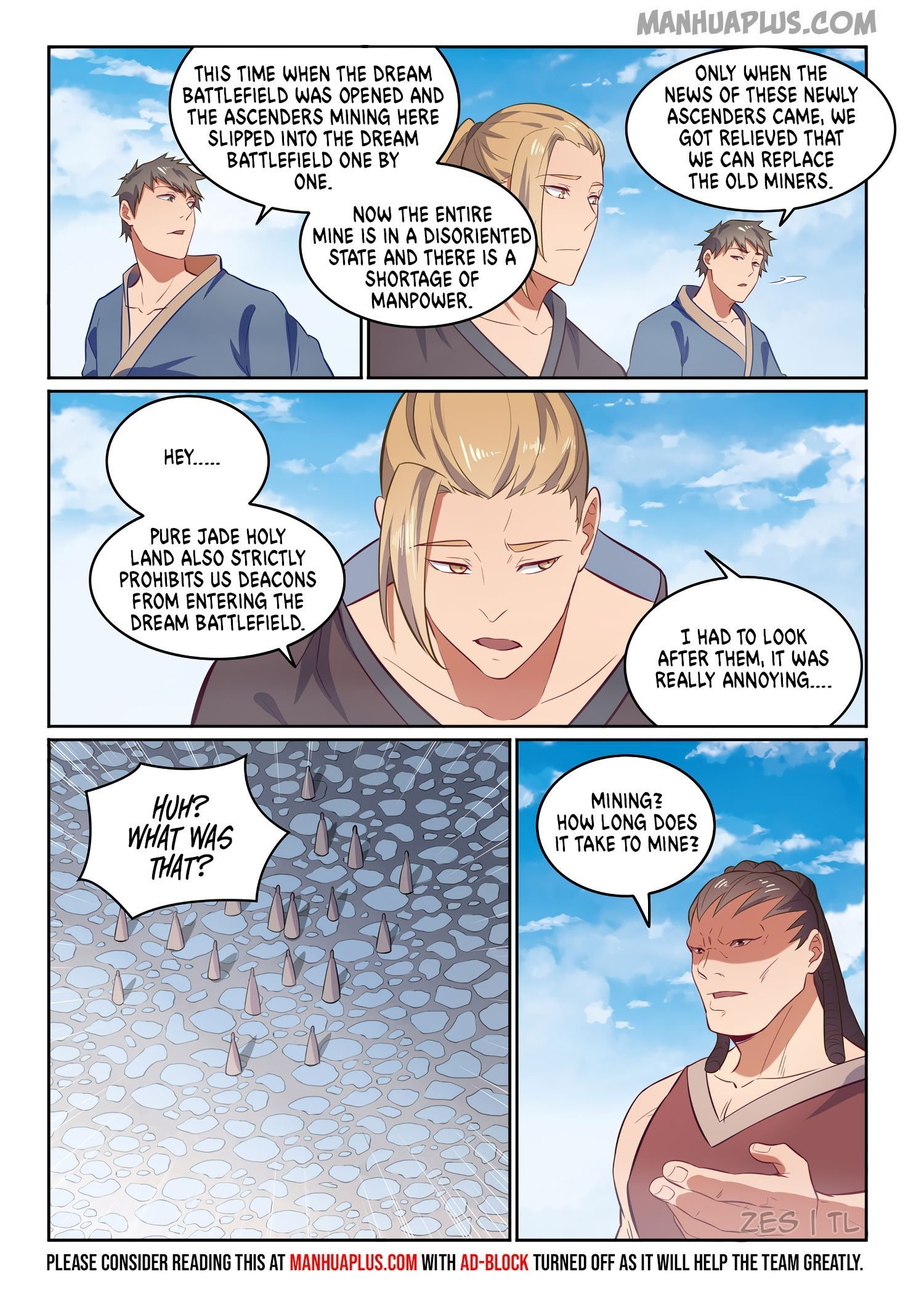 Manga Apotheosis - Chapter 610 Page 14
