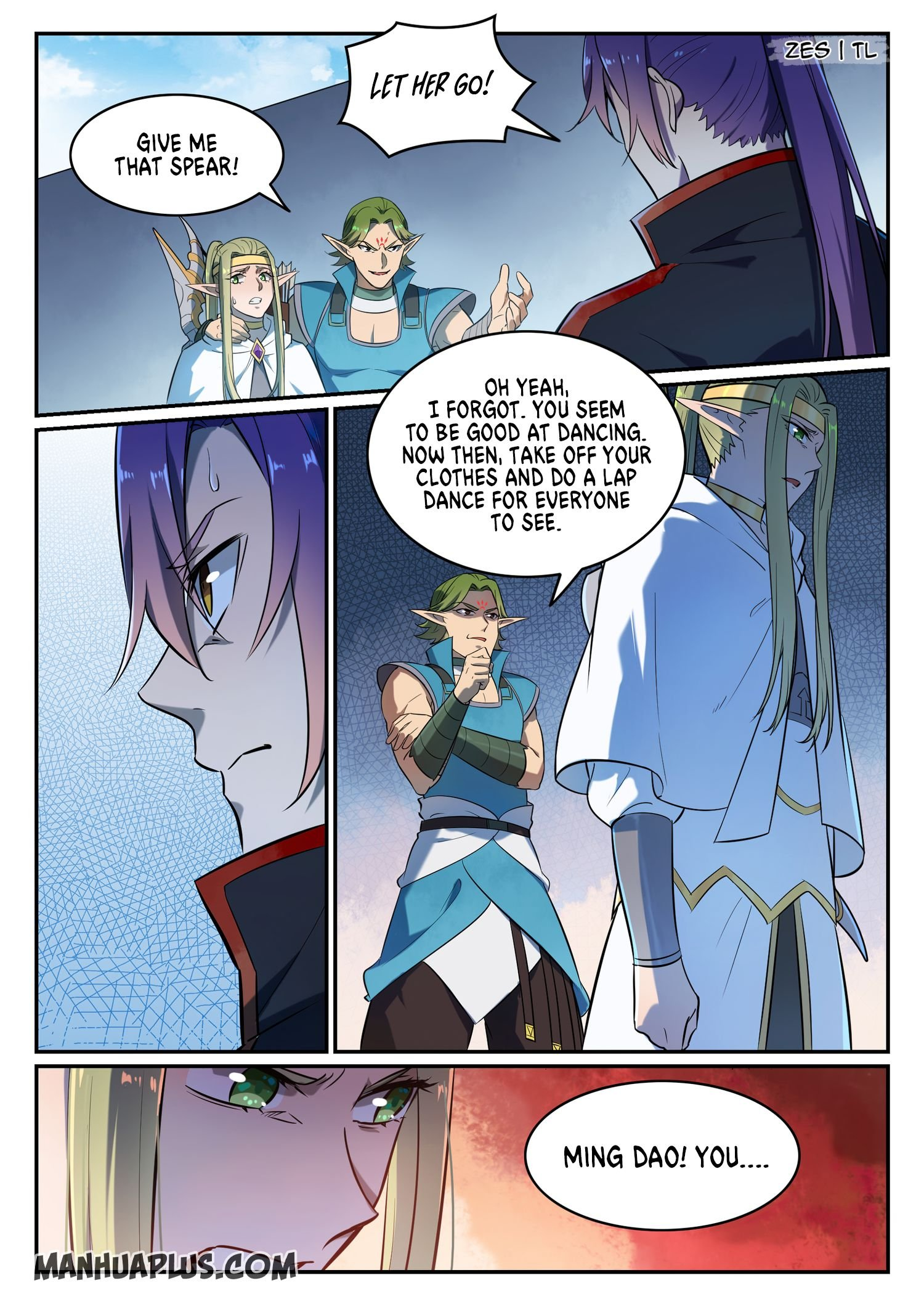 Manga Apotheosis - Chapter 642 Page 8