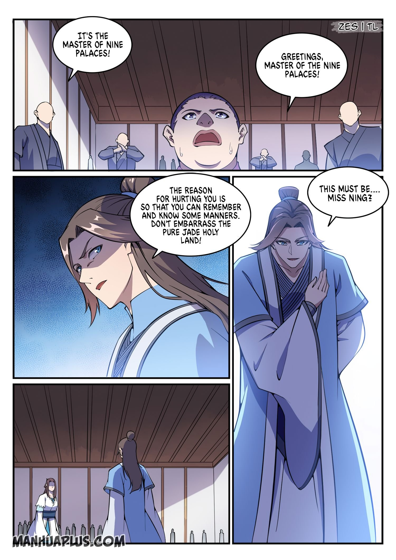 Manga Apotheosis - Chapter 644 Page 13