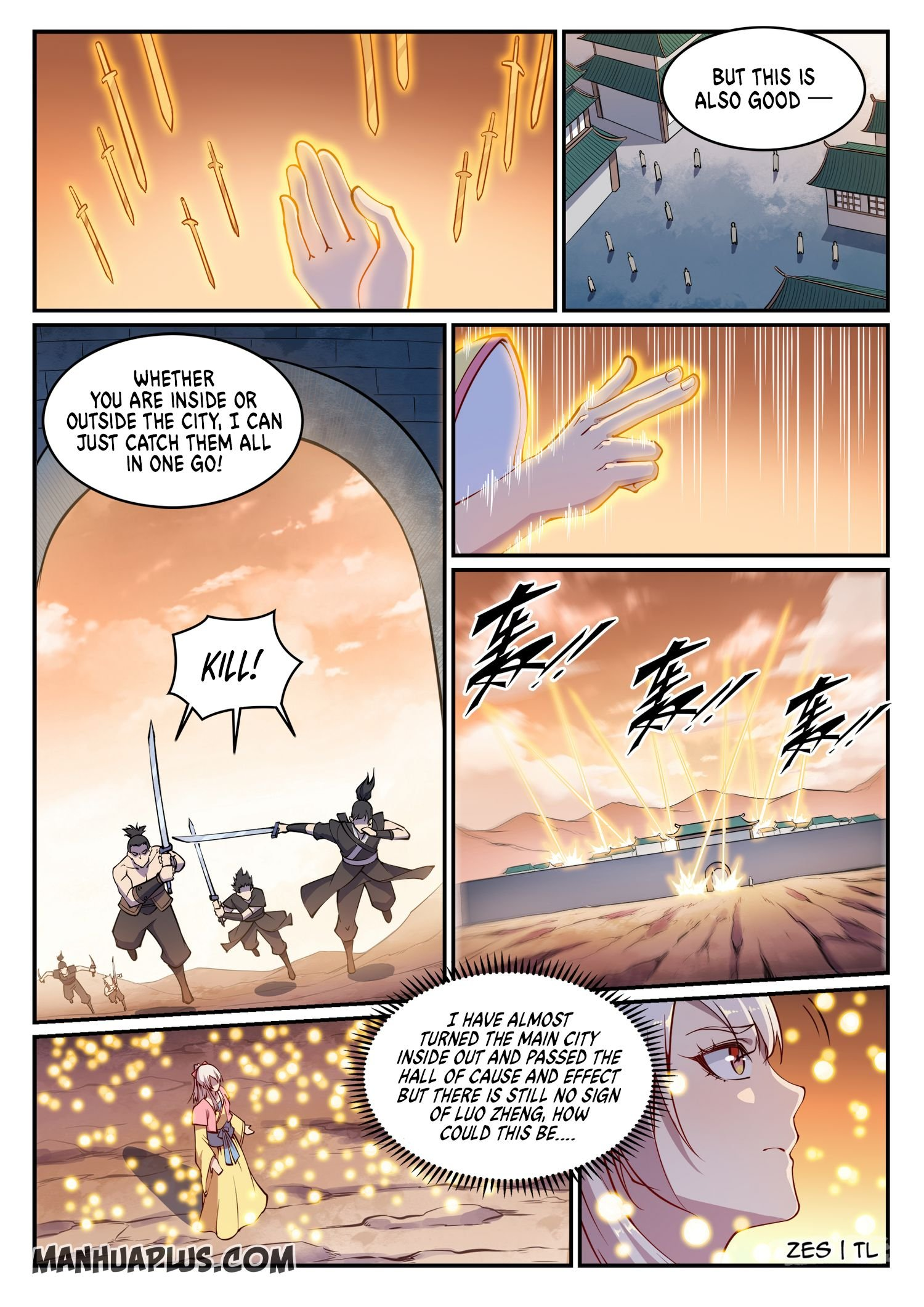Manga Apotheosis - Chapter 644 Page 3