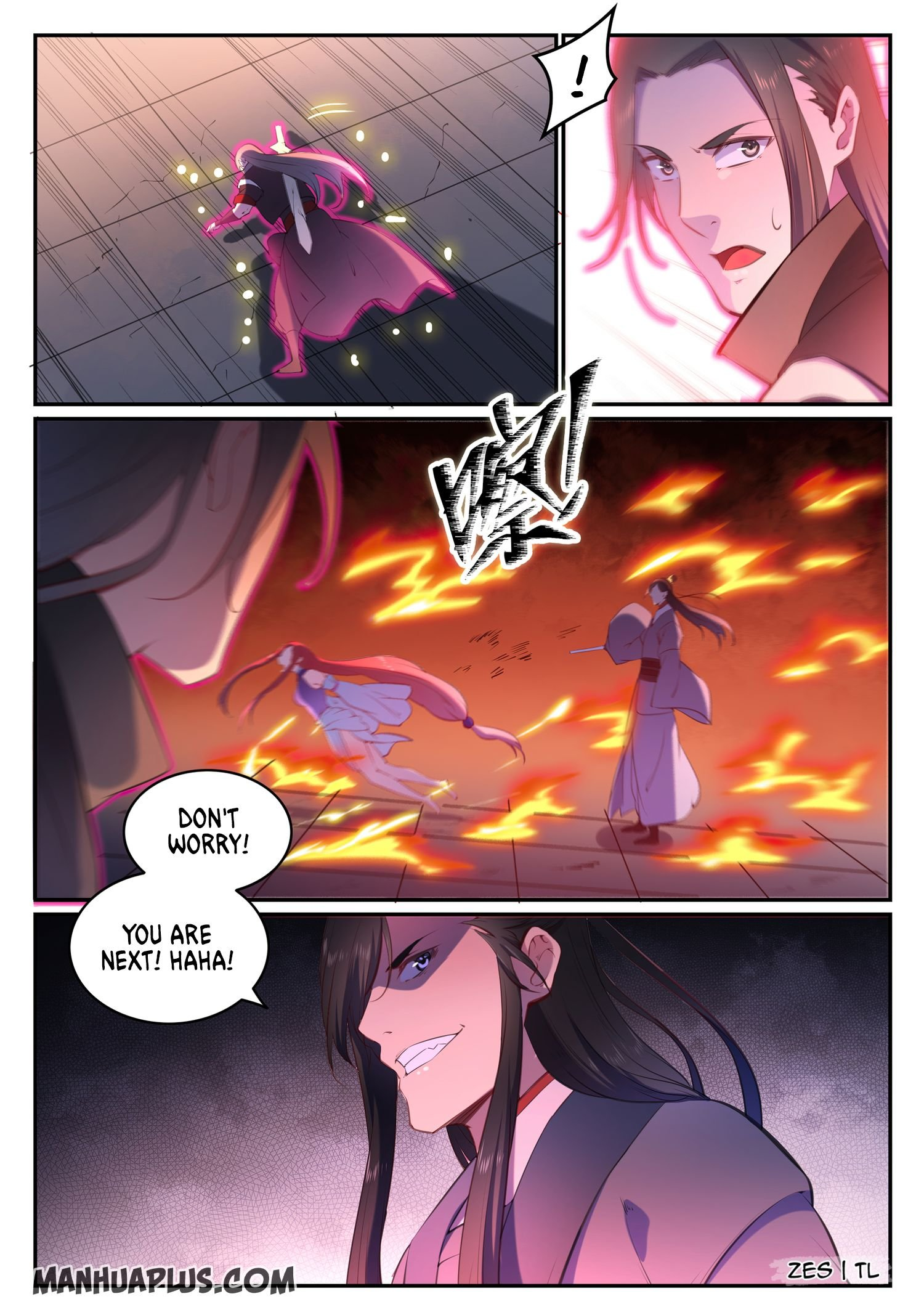 Manga Apotheosis - Chapter 647 Page 8
