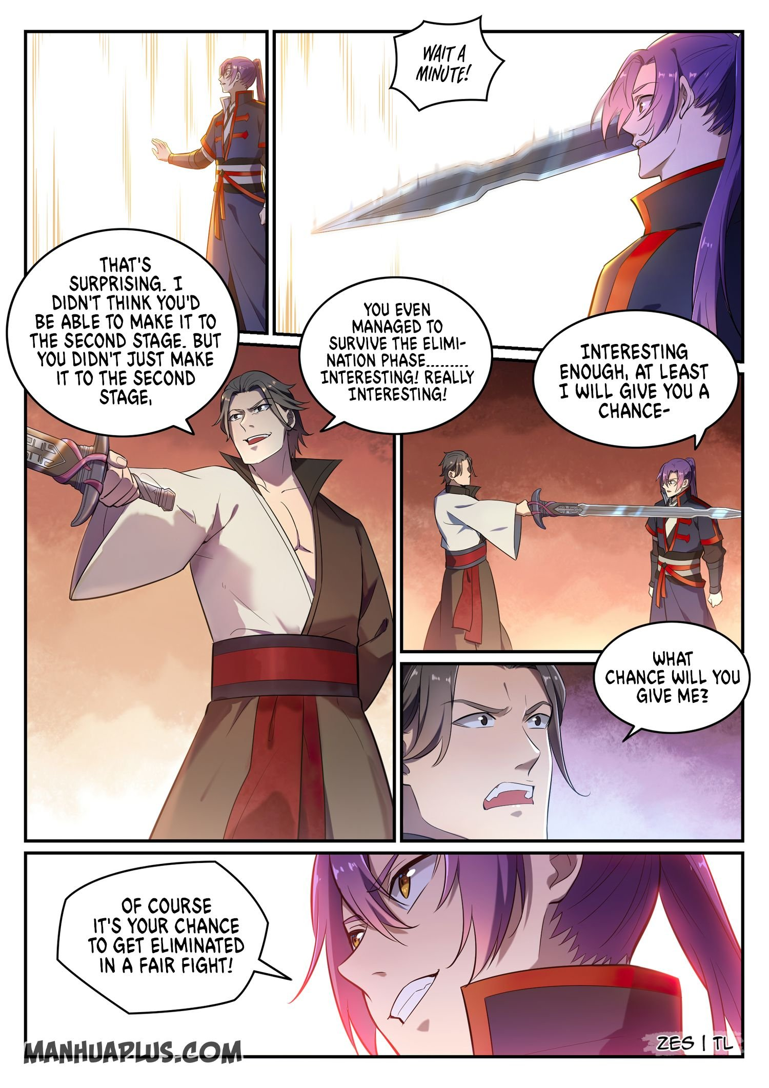 Manga Apotheosis - Chapter 650 Page 11