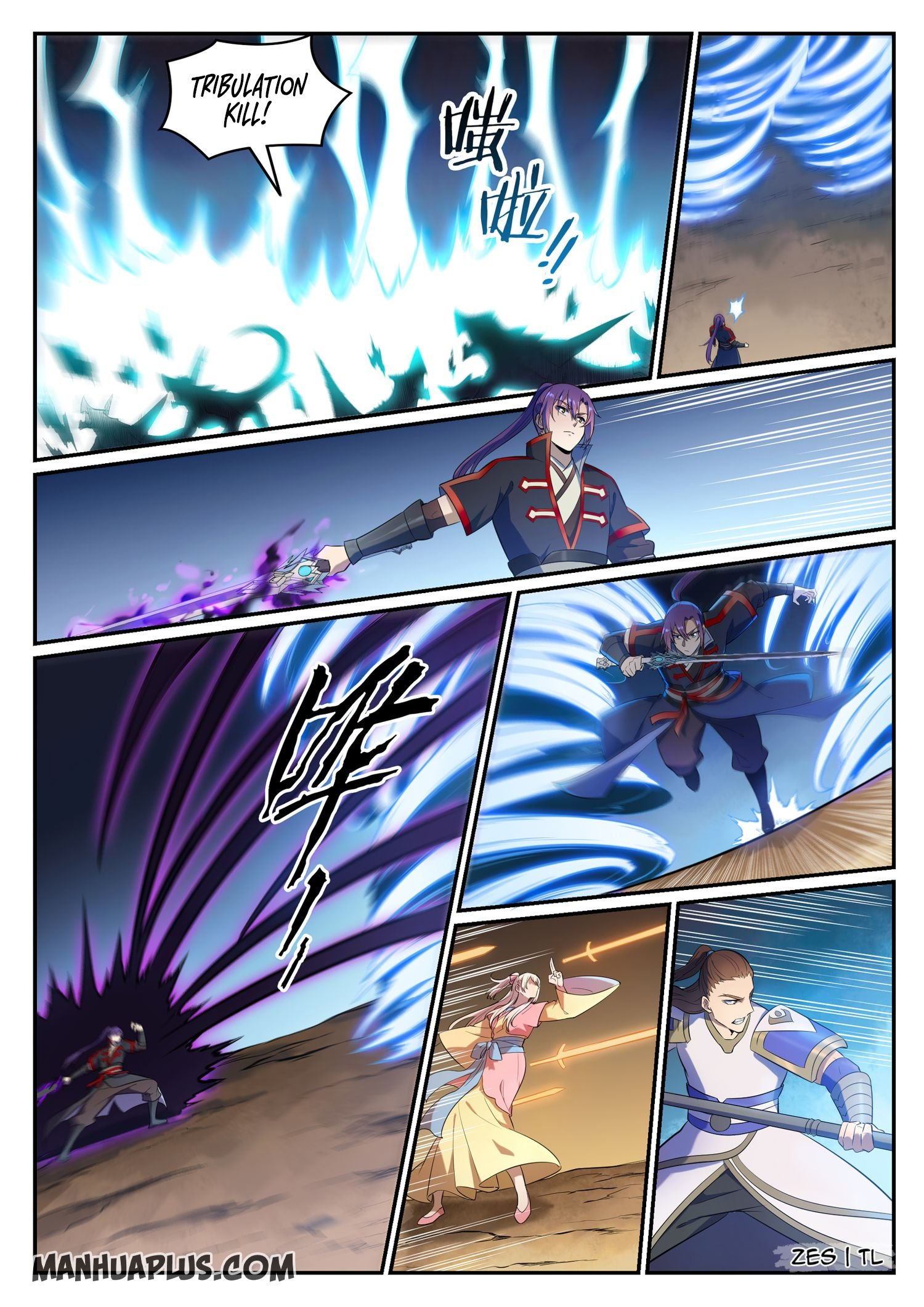 Manga Apotheosis - Chapter 650 Page 8