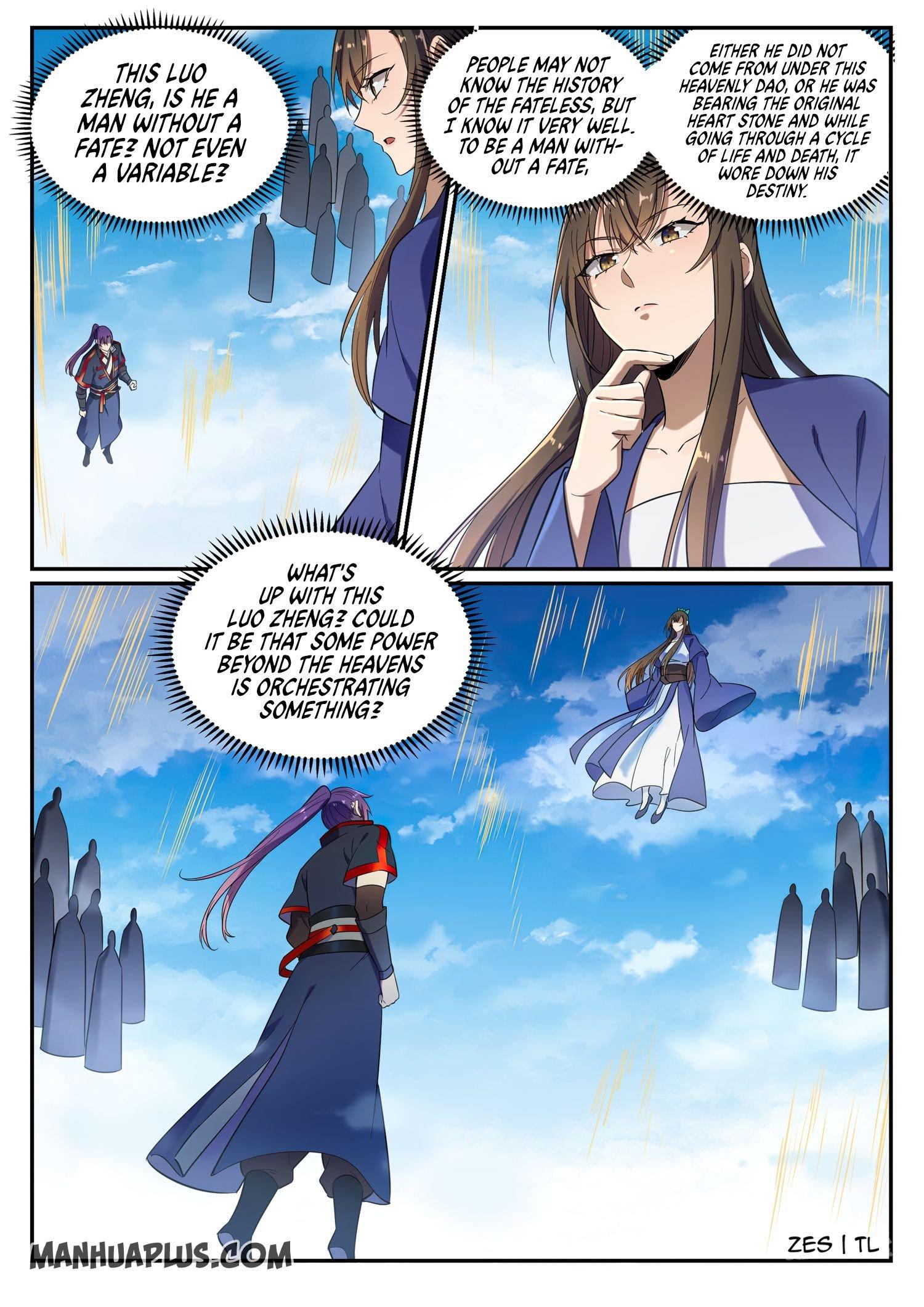 Manga Apotheosis - Chapter 650 Page 17