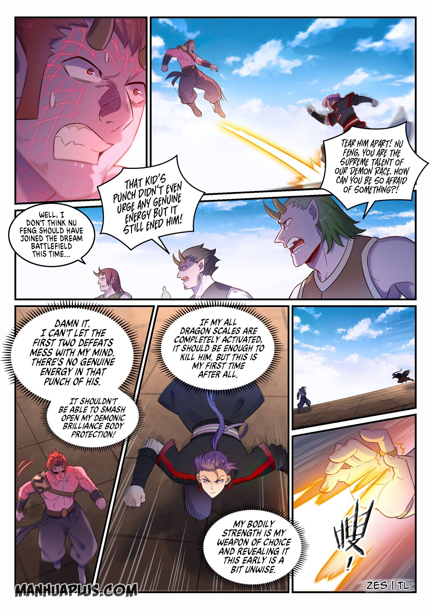 Manga Apotheosis - Chapter 653 Page 8
