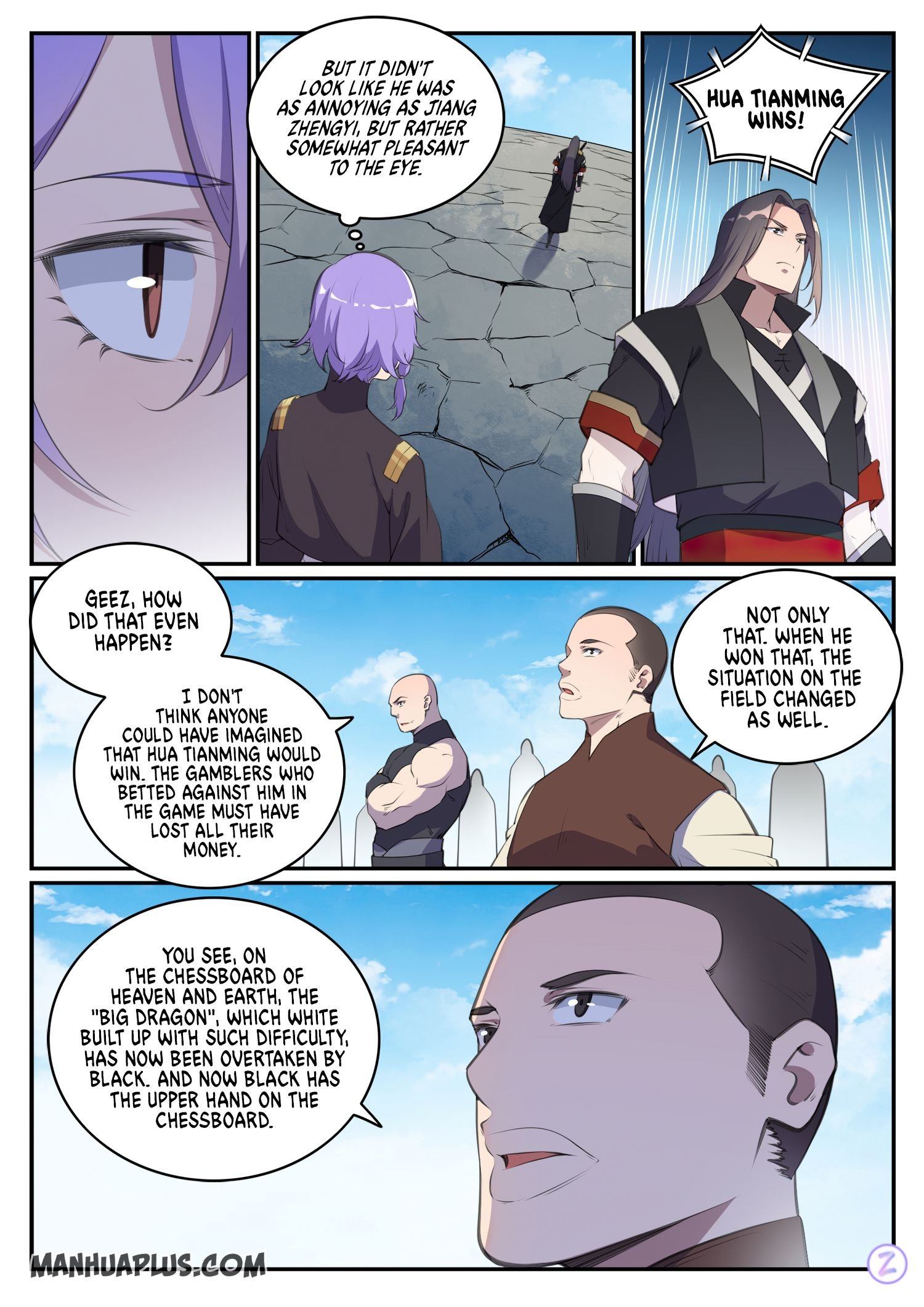 Manga Apotheosis - Chapter 656 Page 8