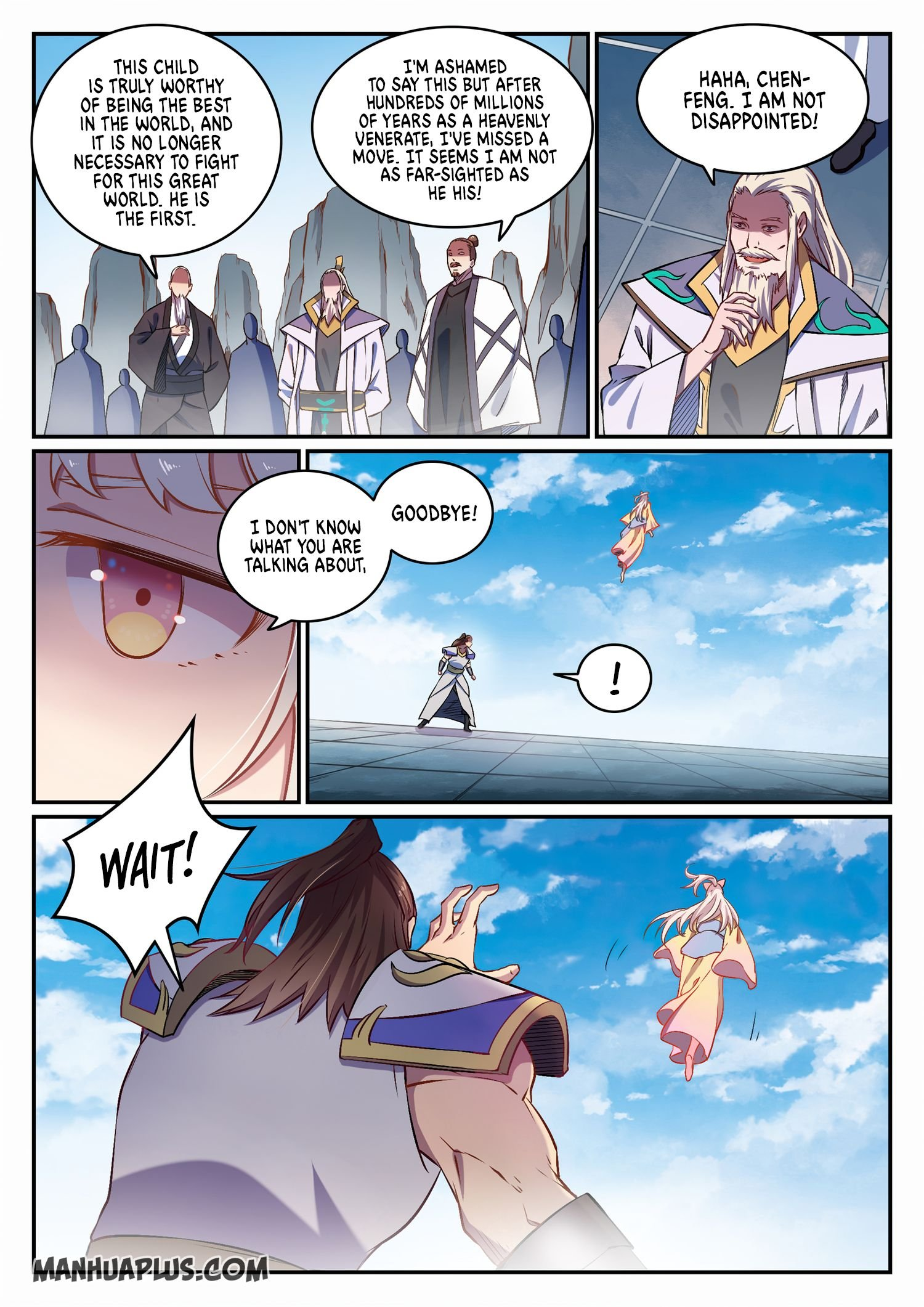 Manga Apotheosis - Chapter 660 Page 5