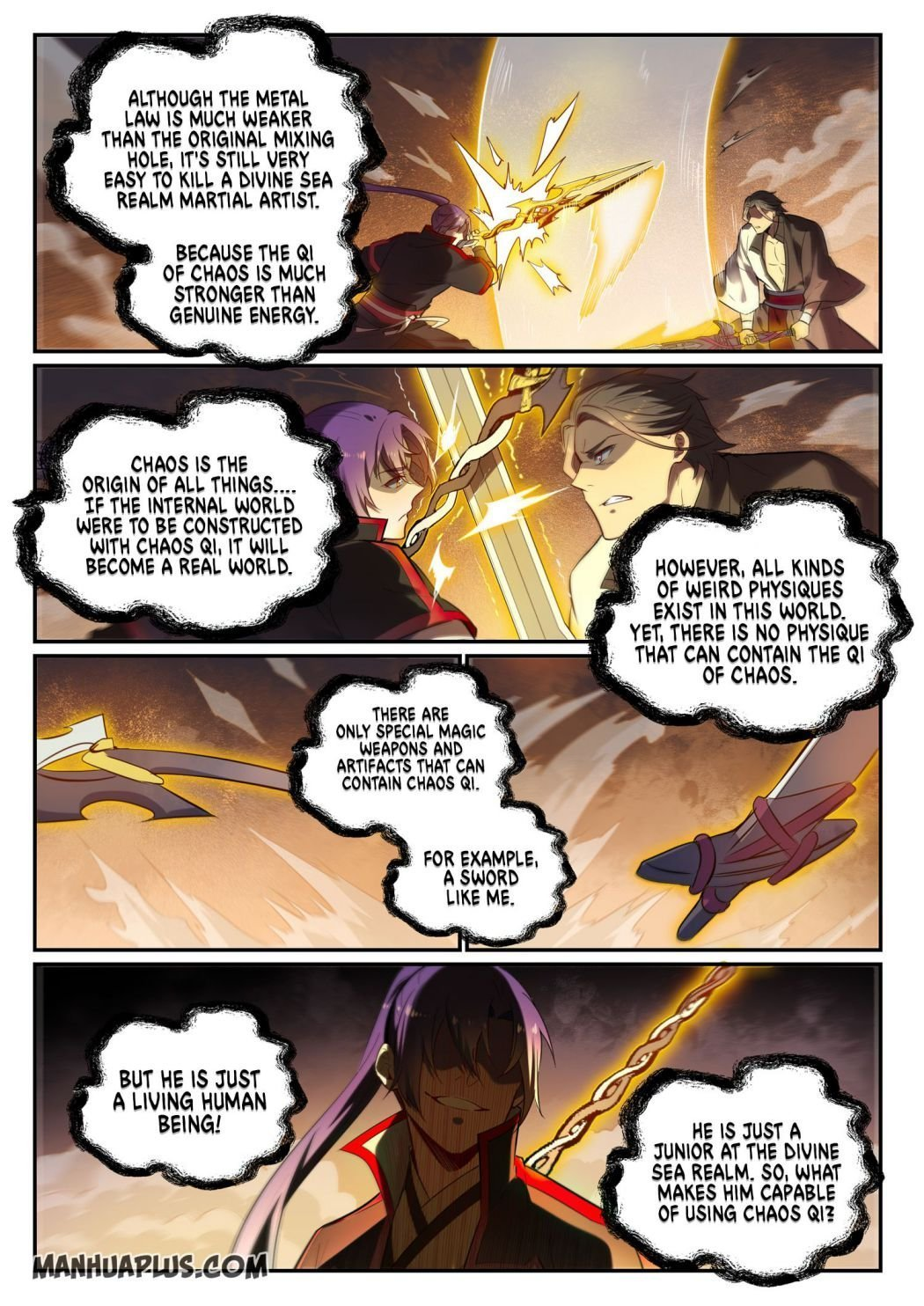 Manga Apotheosis - Chapter 662 Page 7