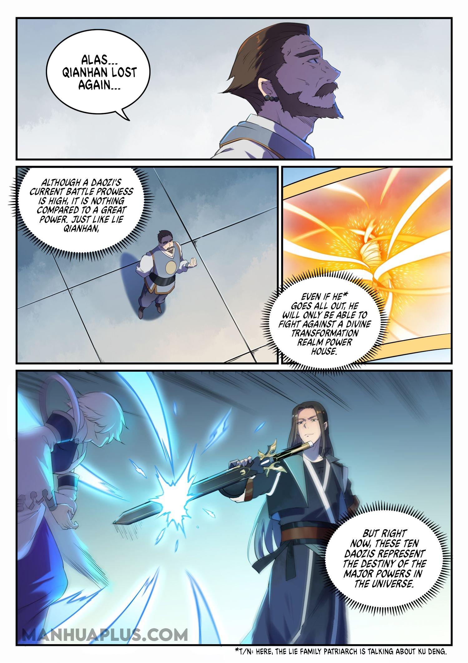 Manga Apotheosis - Chapter 668 Page 9