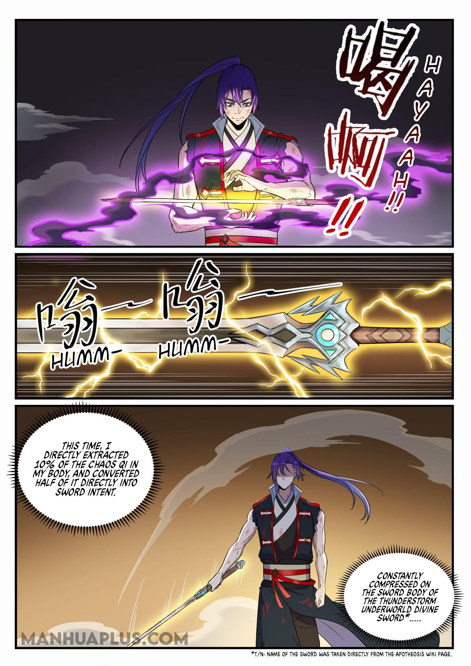 Manga Apotheosis - Chapter 673 Page 8