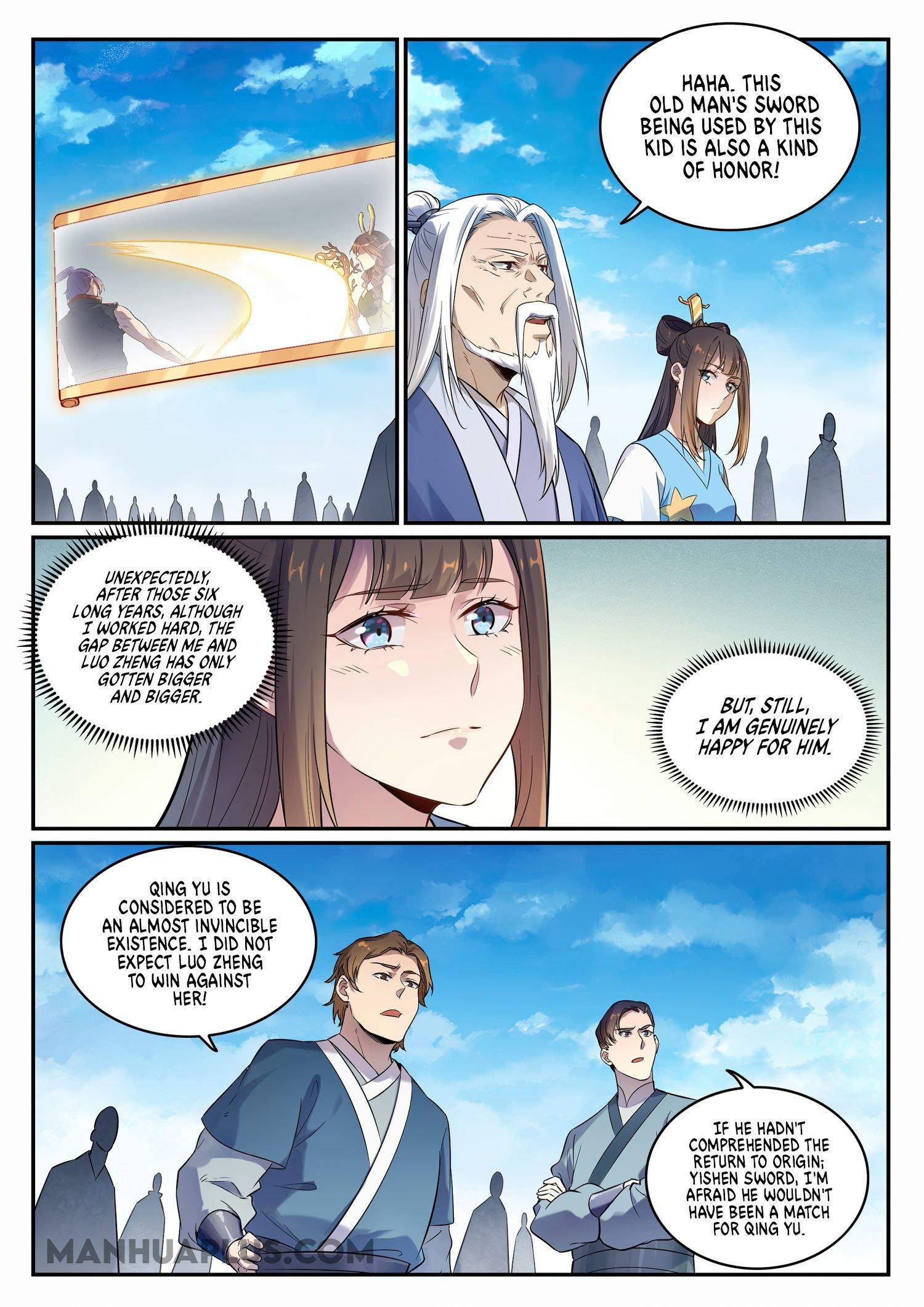 Manga Apotheosis - Chapter 674 Page 8
