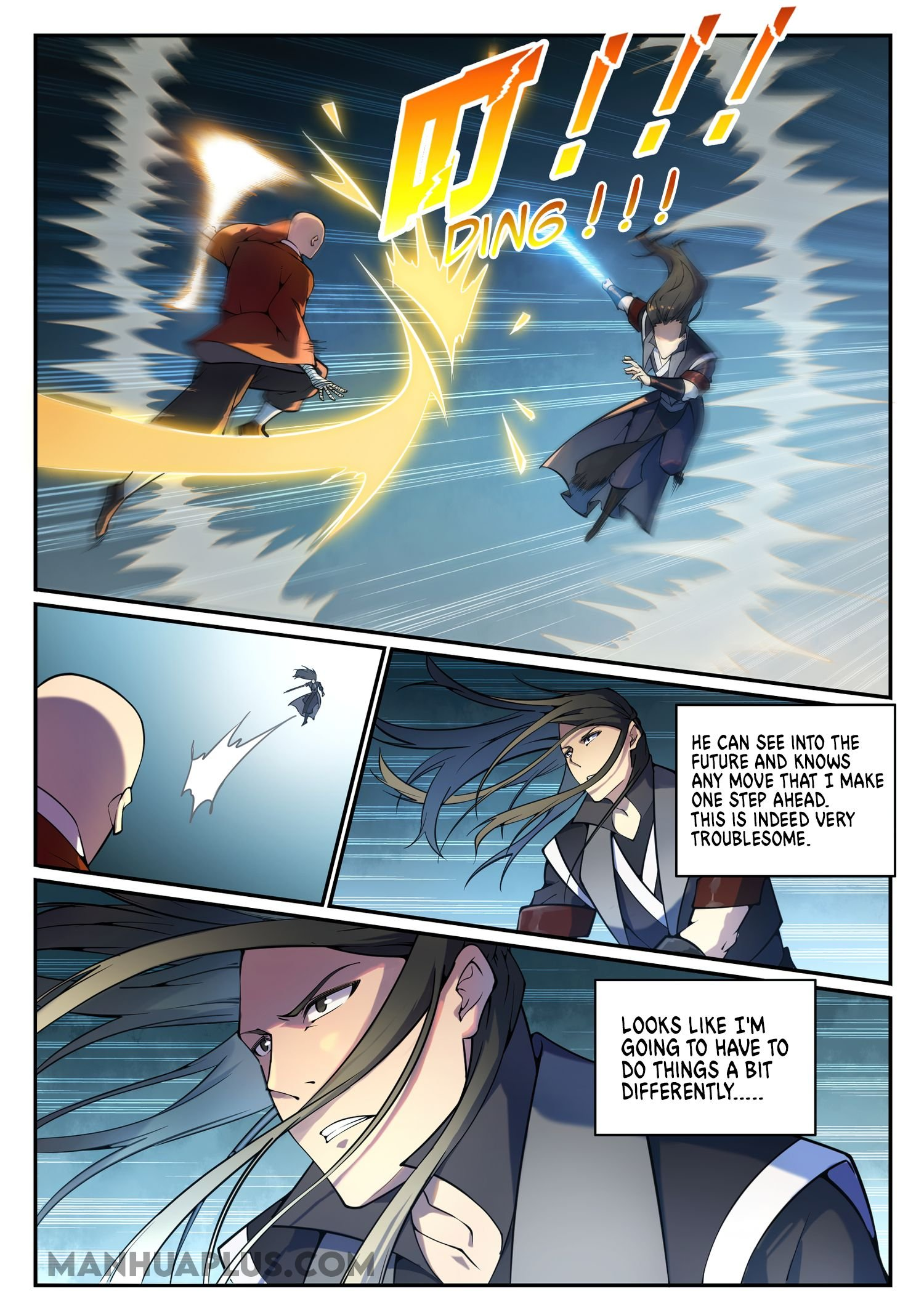 Manga Apotheosis - Chapter 676 Page 4
