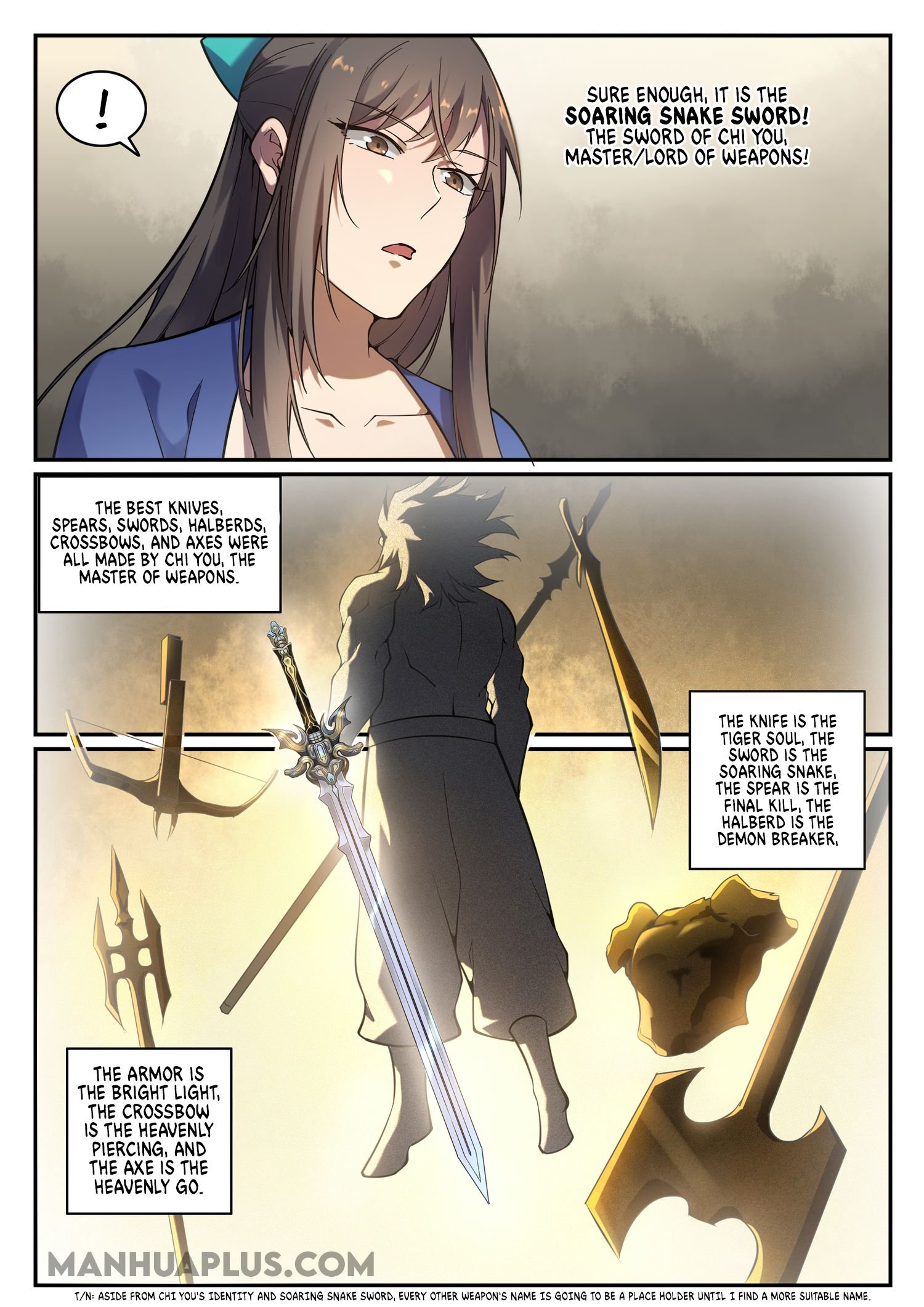Manga Apotheosis - Chapter 676 Page 11