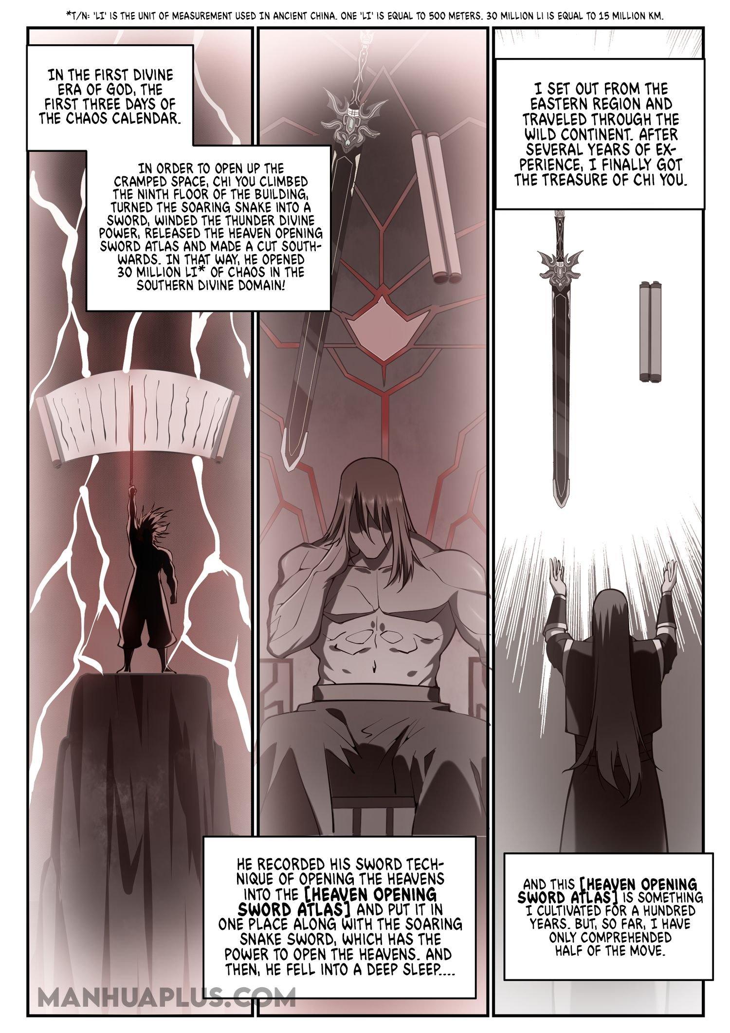 Manga Apotheosis - Chapter 683 Page 13