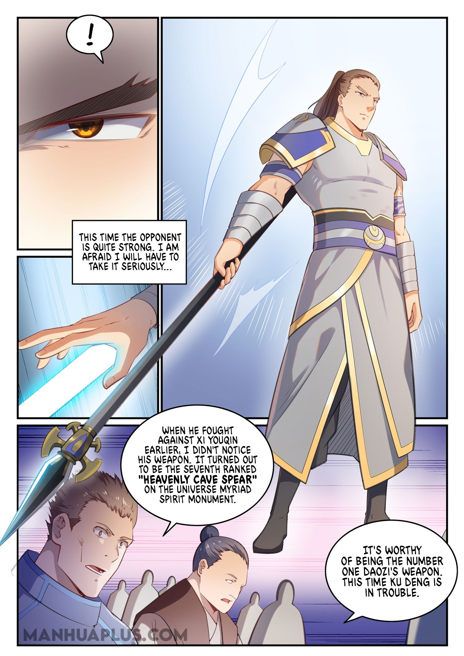 Manga Apotheosis - Chapter 684 Page 7