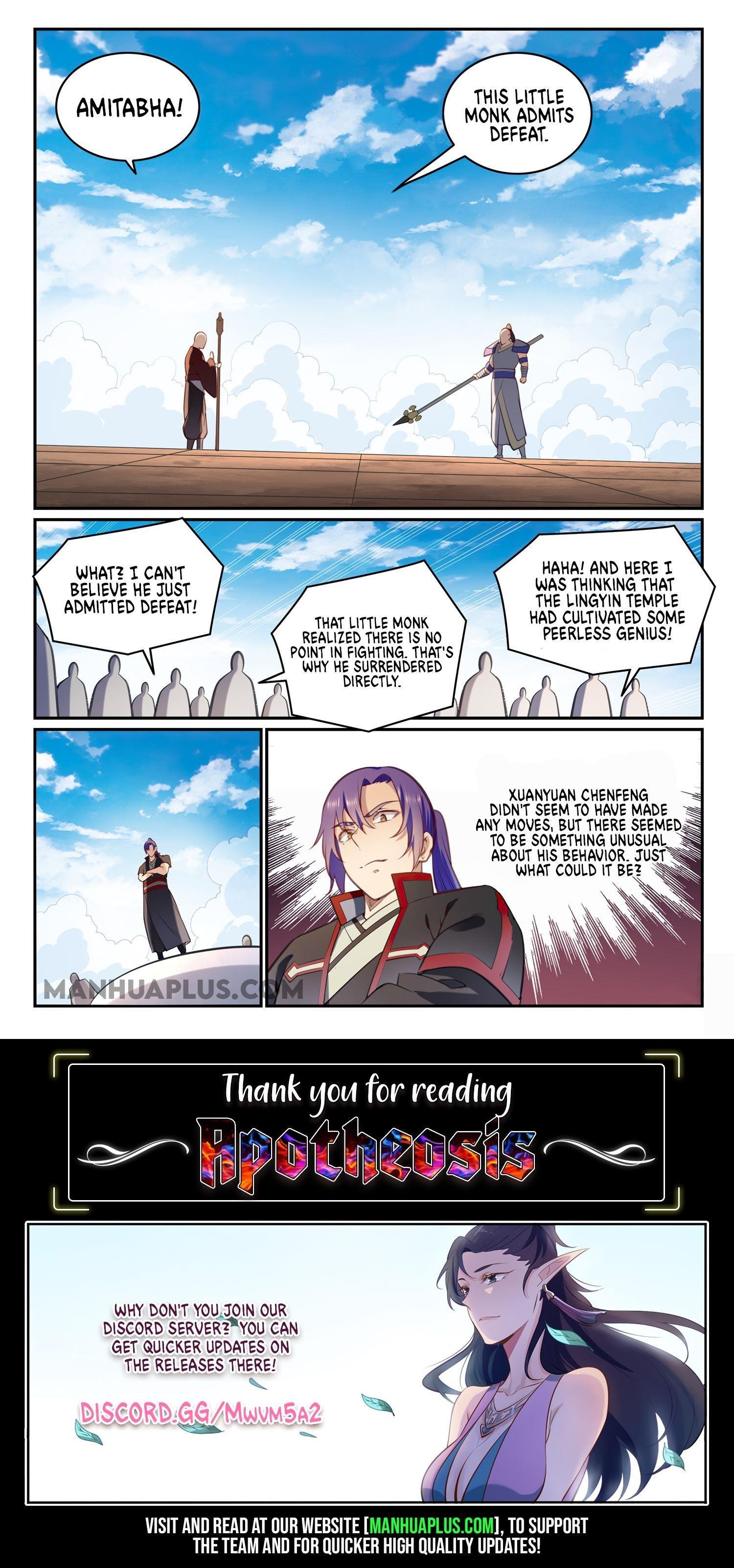 Manga Apotheosis - Chapter 684 Page 15