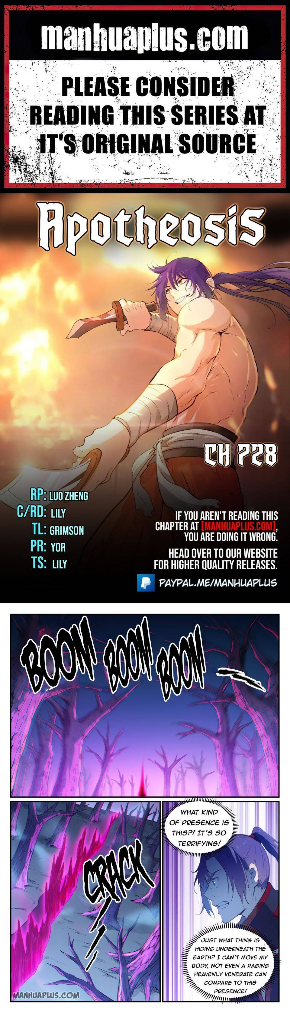 Manga Apotheosis - Chapter 728 Page 1
