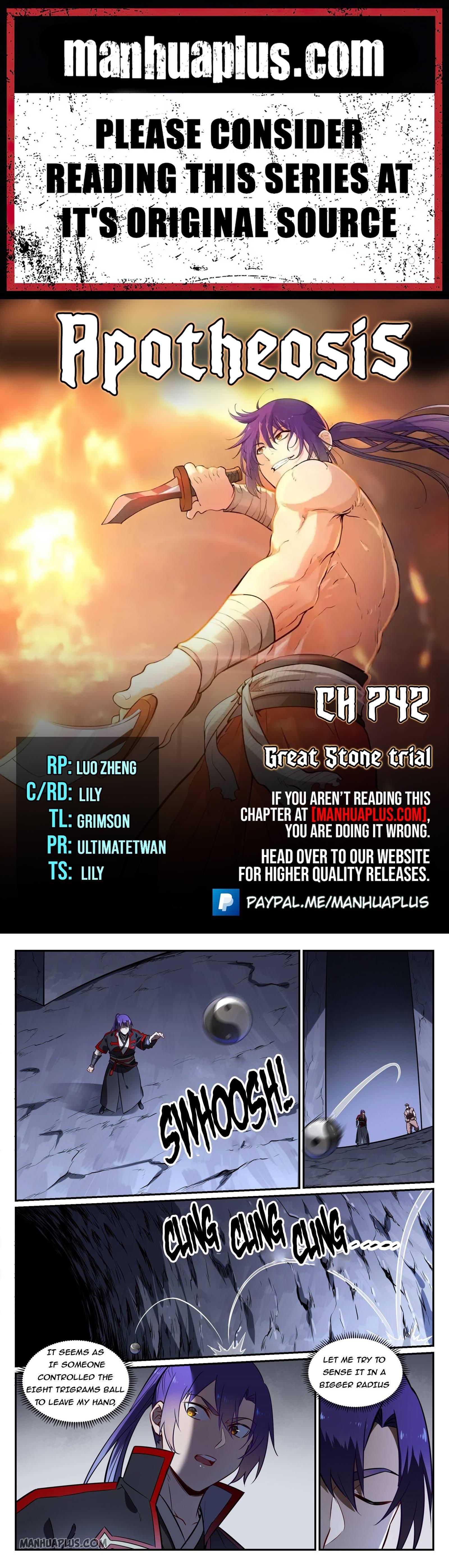 Manga Apotheosis - Chapter 742 Page 1