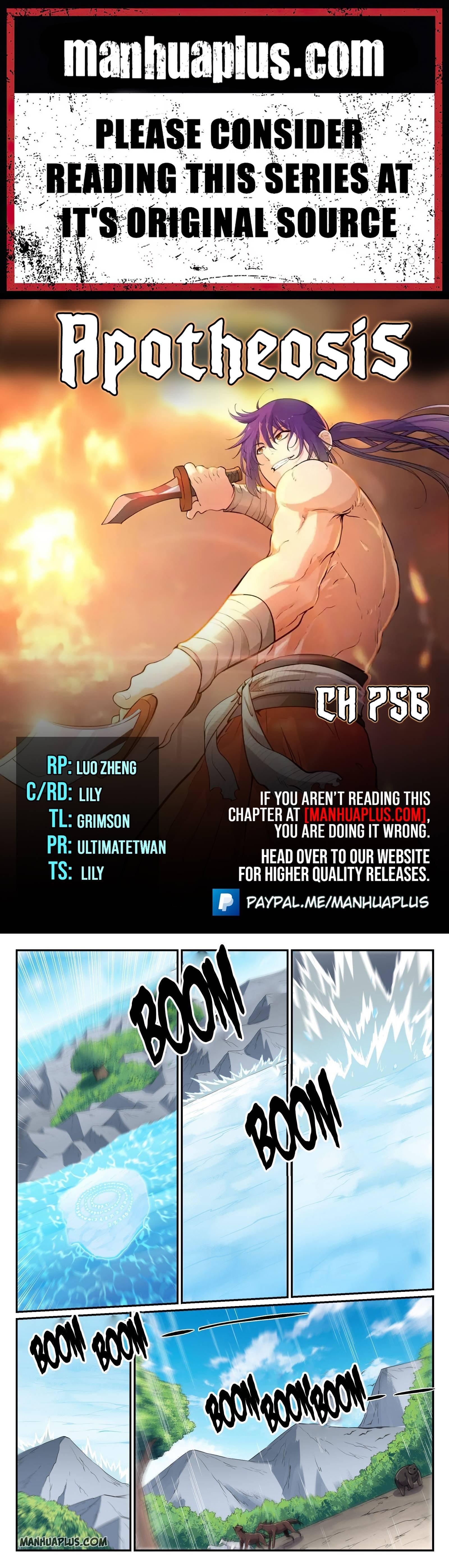 Manga Apotheosis - Chapter 756 Page 1