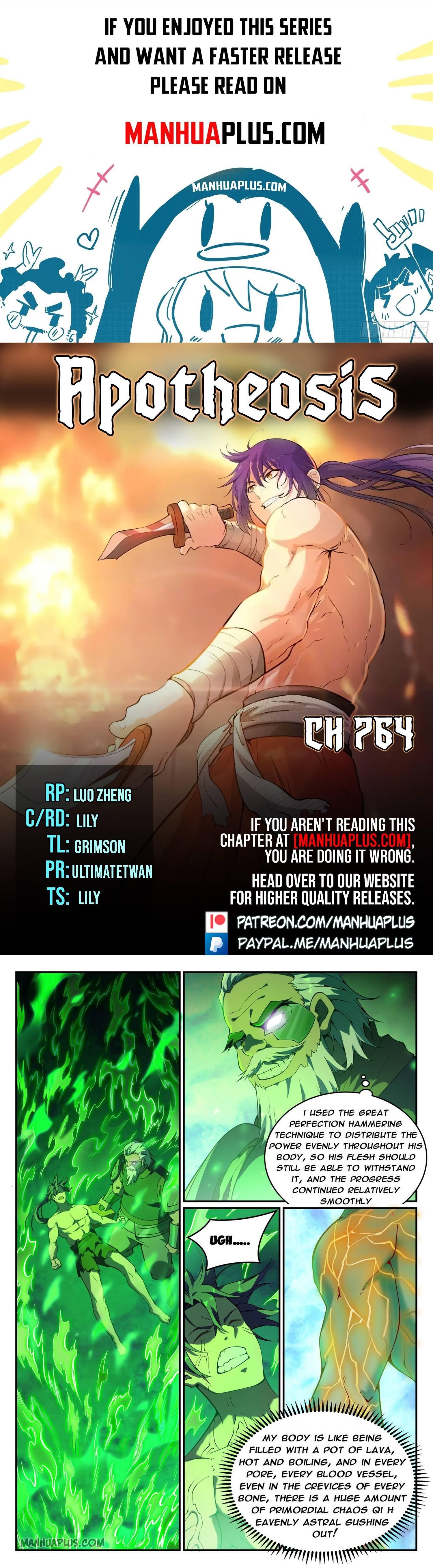 Manga Apotheosis - Chapter 764 Page 1