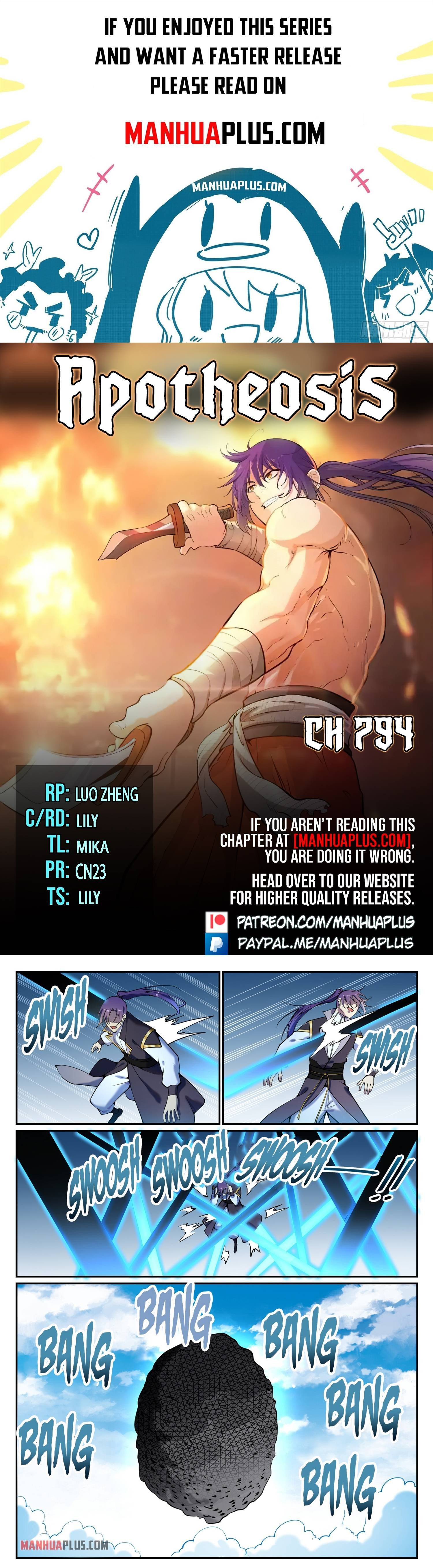 Manga Apotheosis - Chapter 794 Page 1