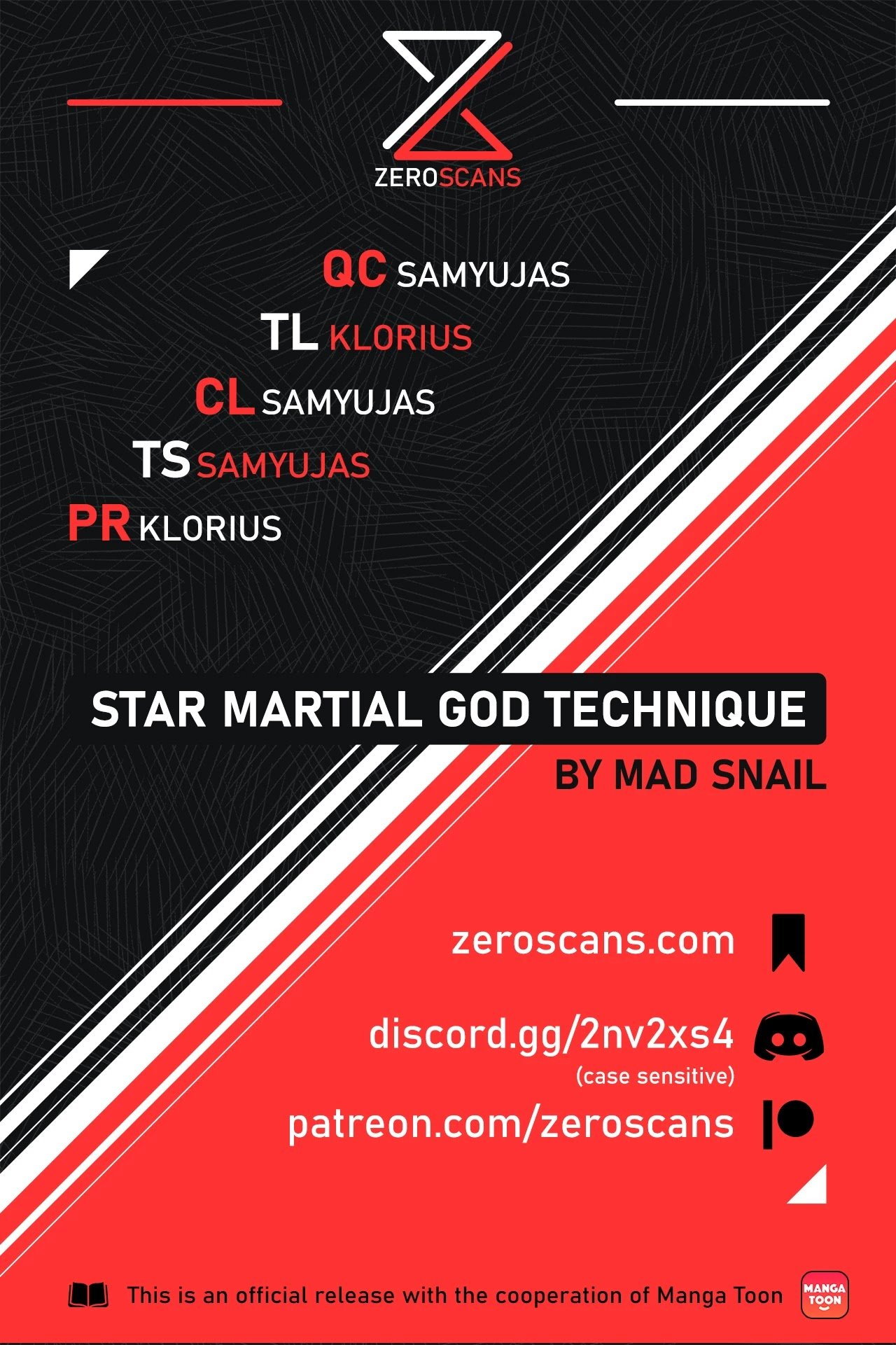 Manga Star Martial God Technique - Chapter 445 Page 1