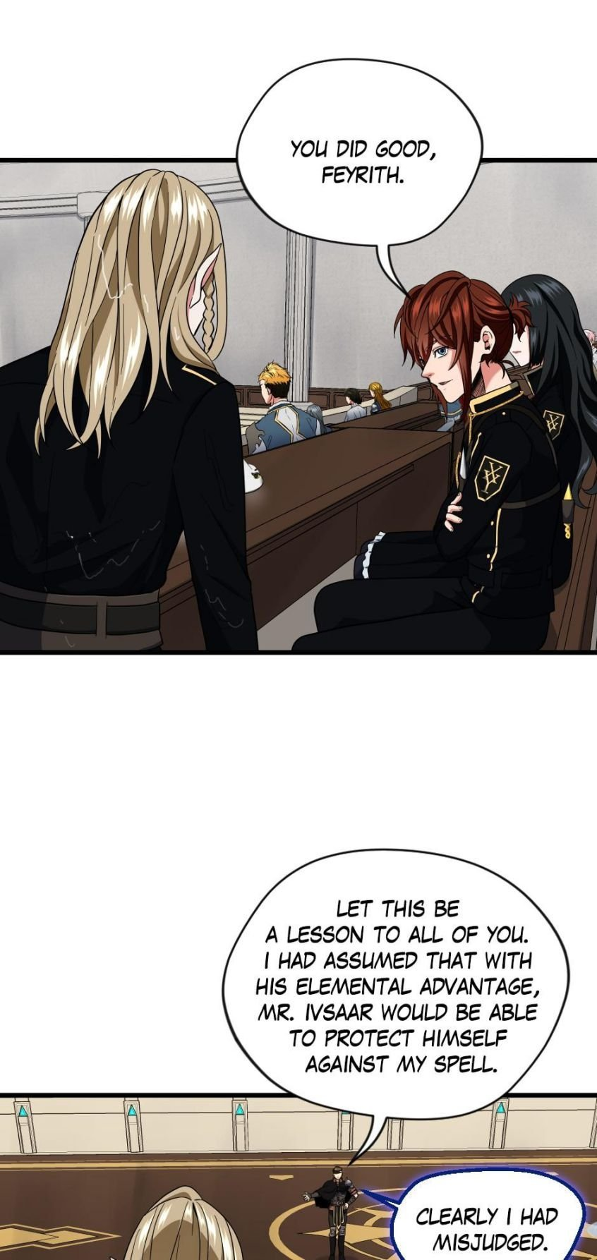 Manga The Beginning After the End - Chapter 93 Page 1