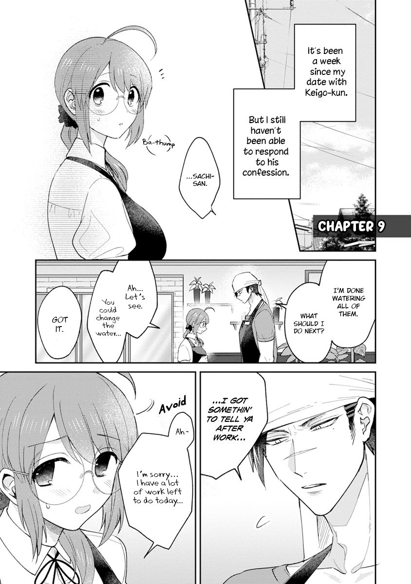 Manga Scary Face High Schooler and Miss Plain Jane - Chapter 9 Page 1