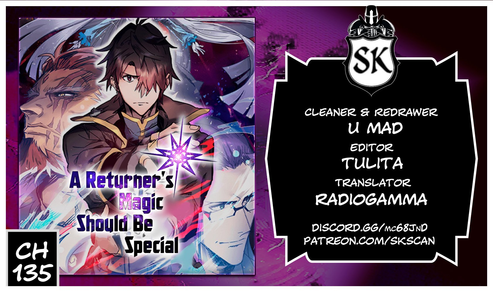 Manga A Returner's Magic Should Be Special - Chapter 135 Page 1