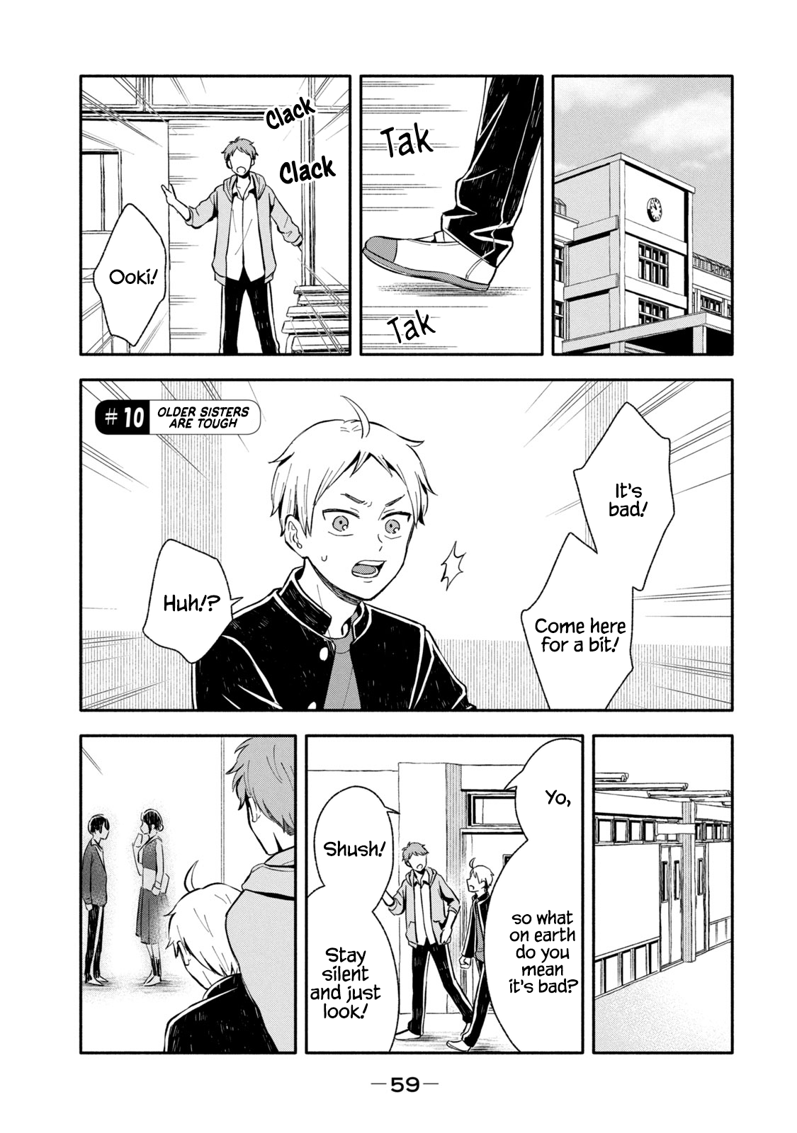 Manga Get Married When You Grow Up! - Chapter 10 Page 1