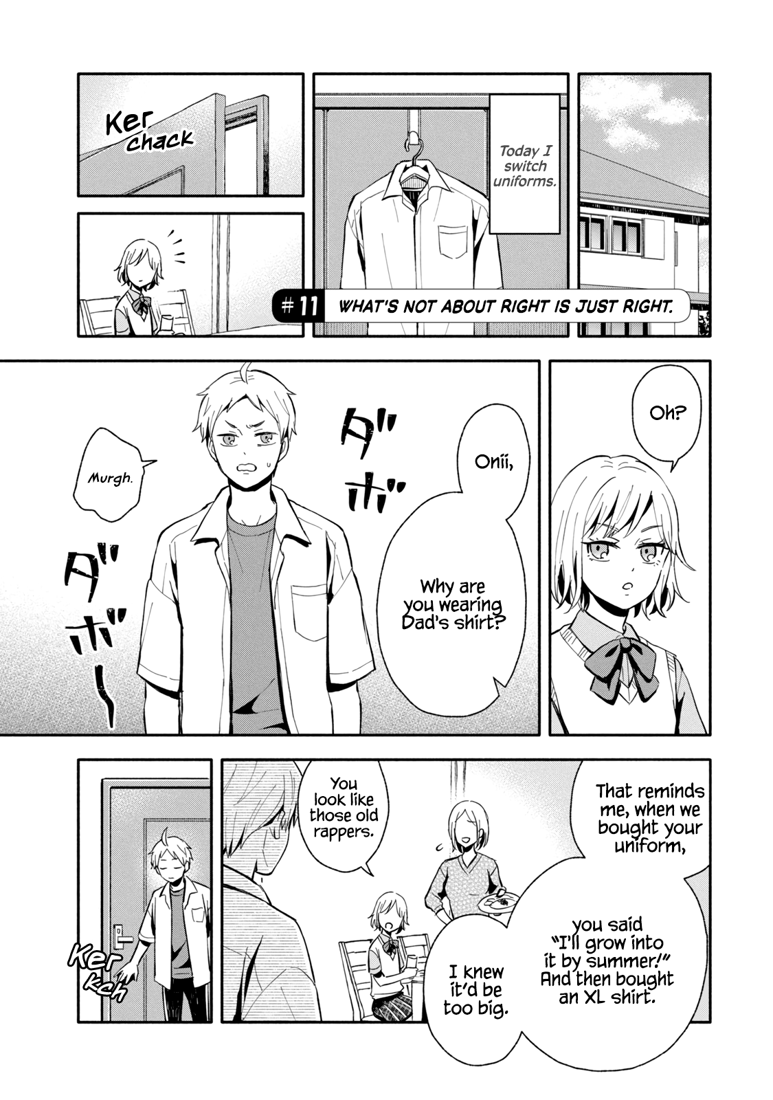 Manga Get Married When You Grow Up! - Chapter 11 Page 1