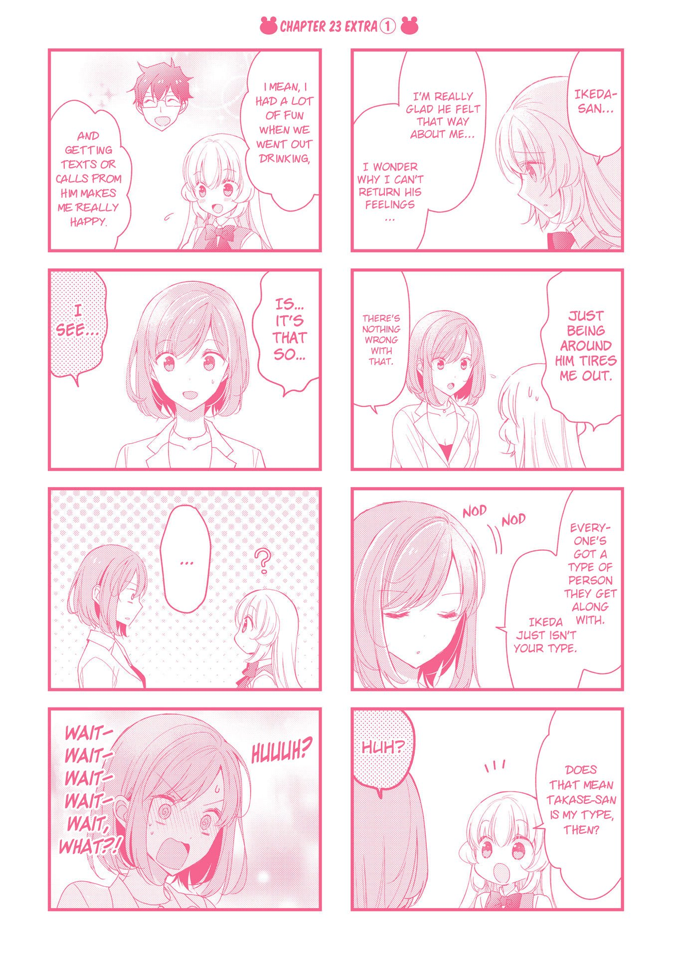 Manga My Short Senpai Is Way Too Cute - Chapter 29.5 Page 8