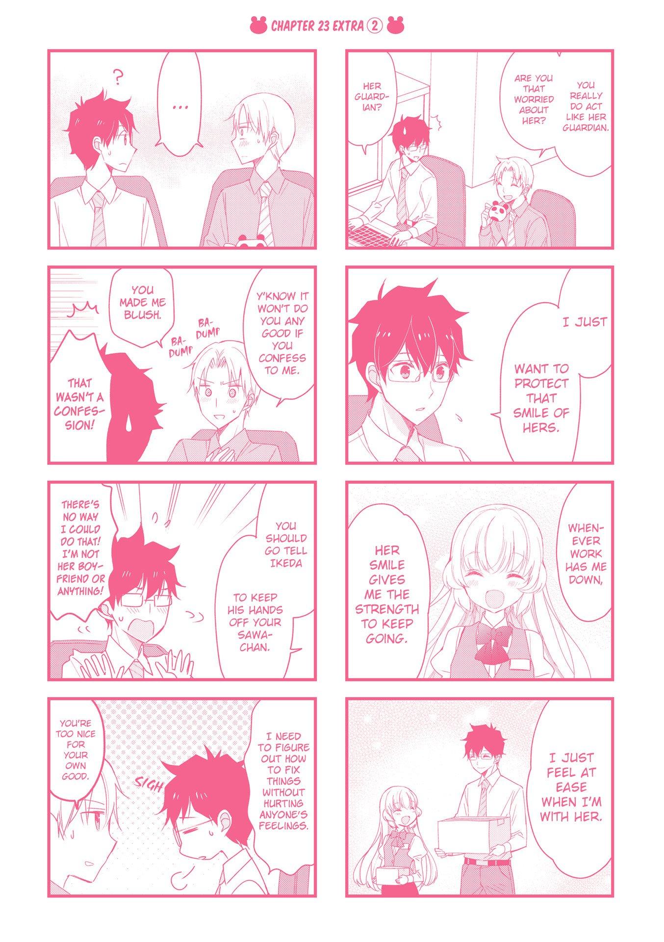 Manga My Short Senpai Is Way Too Cute - Chapter 29.5 Page 9